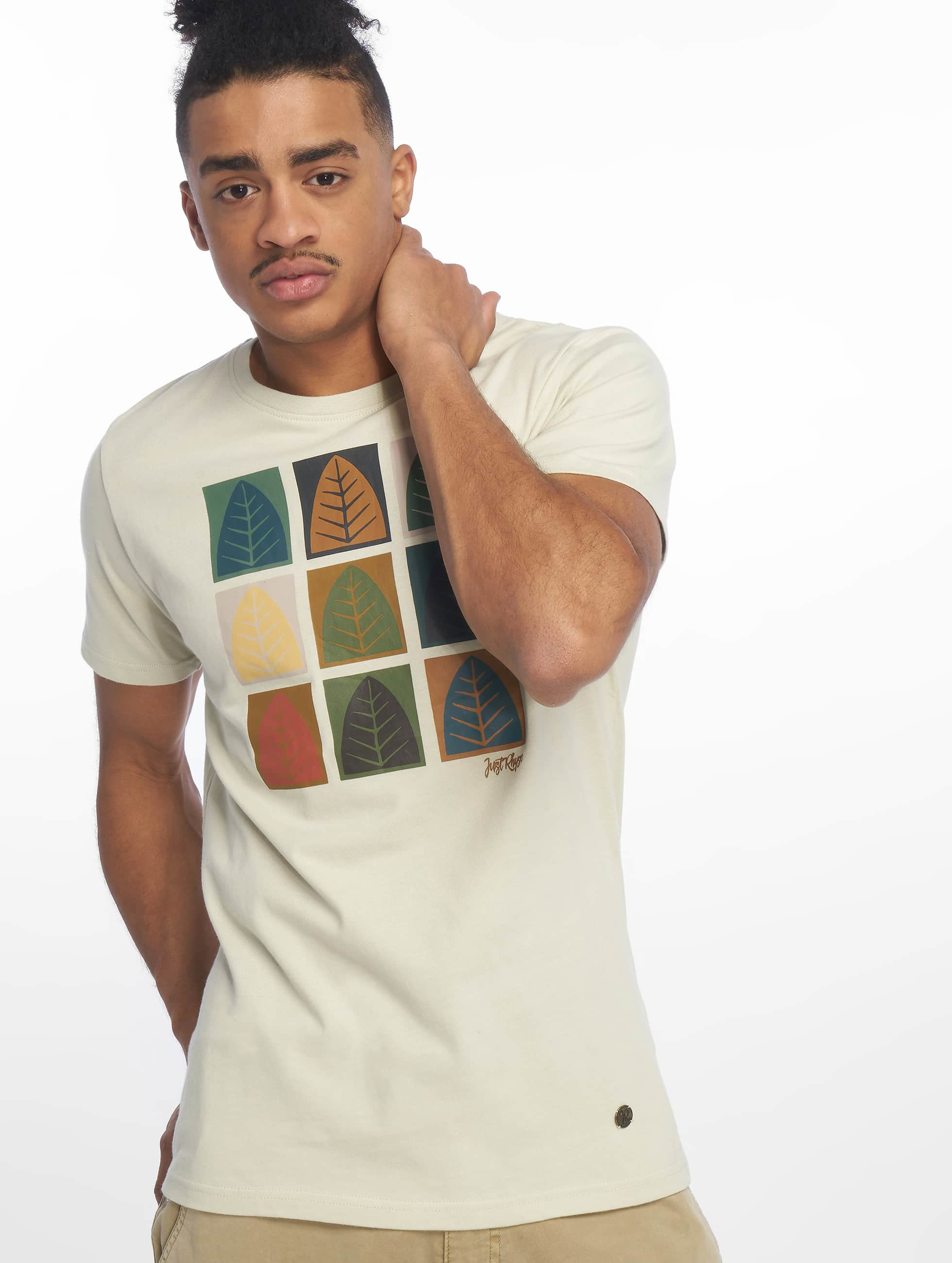 Just Rhyse / T-Shirt Rhyser in beige S