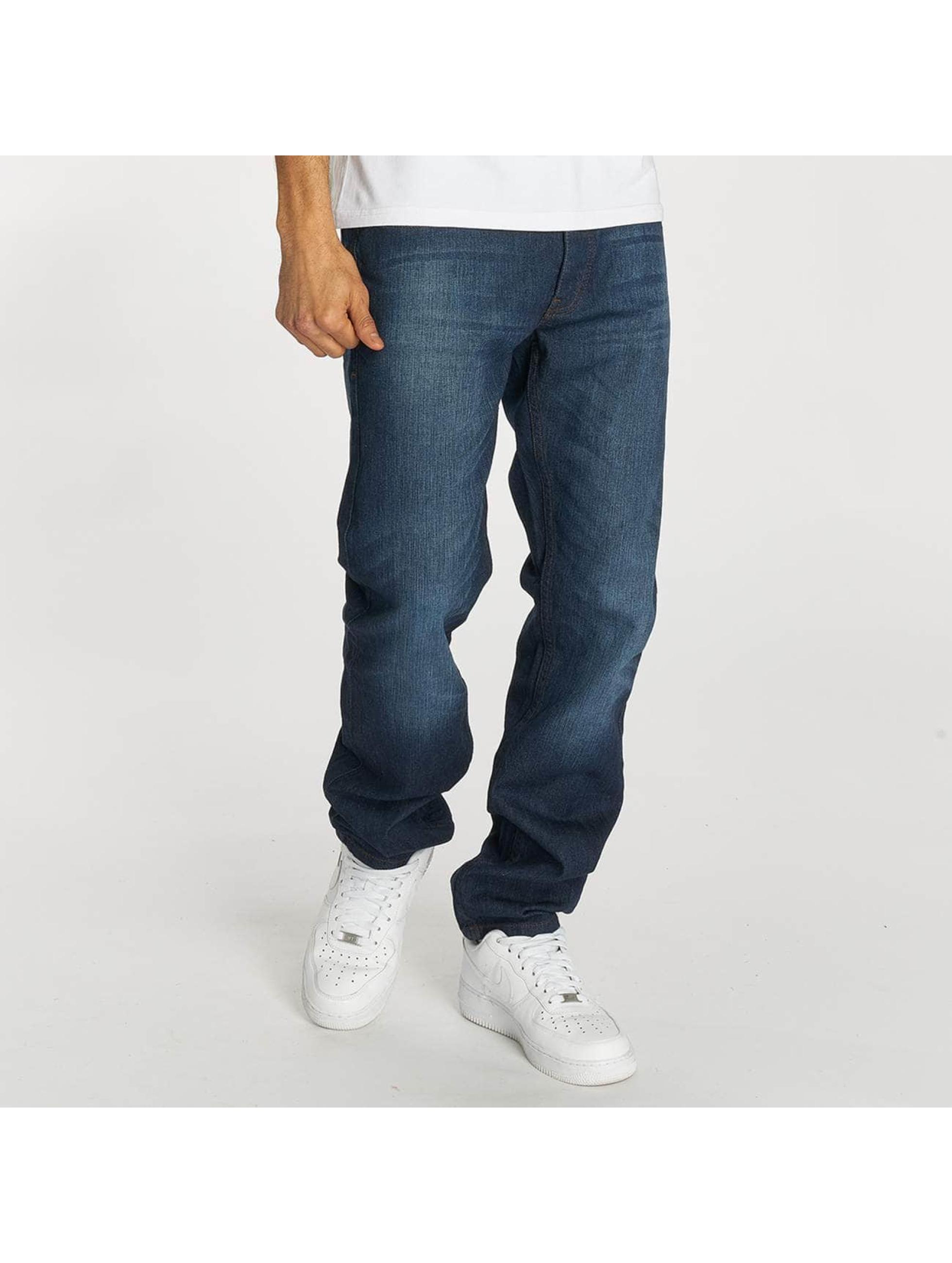 Rocawear / Straight Fit Jeans Moletro in blue W 46
