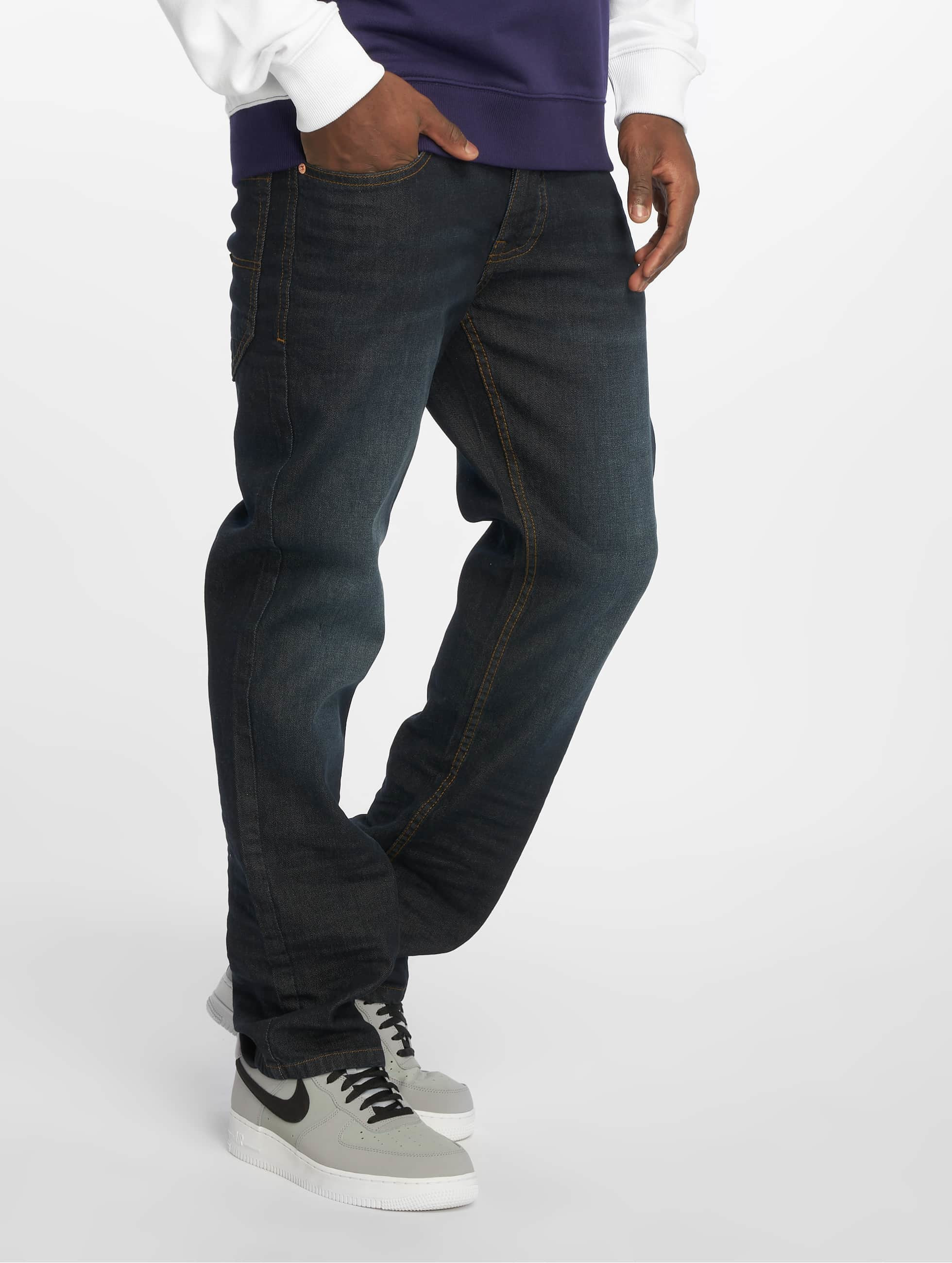 Rocawear / Straight Fit Jeans TUE Relax Fit in blue W 44 L 34