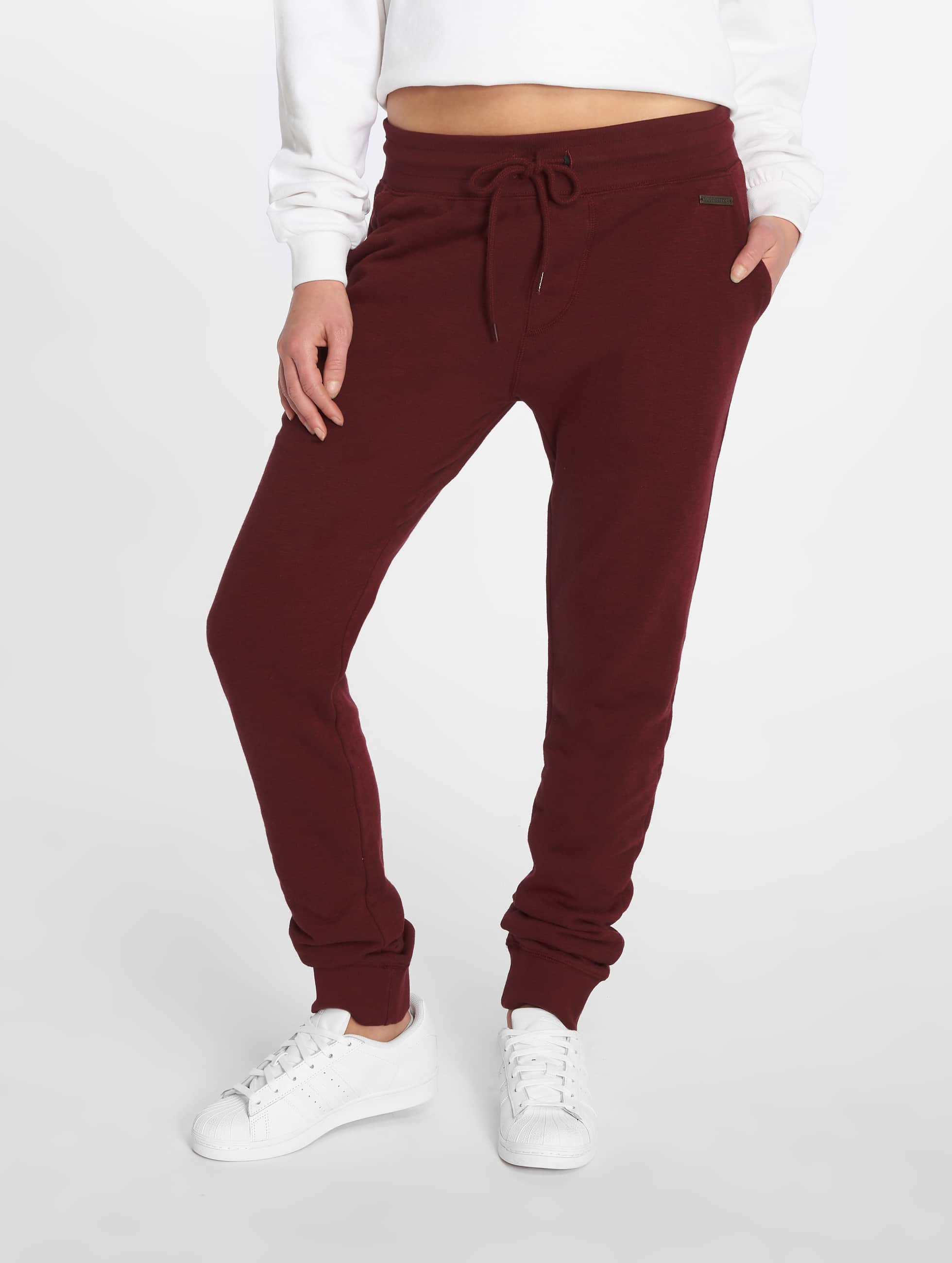 Just Rhyse / Sweat Pant Poppy in red XS