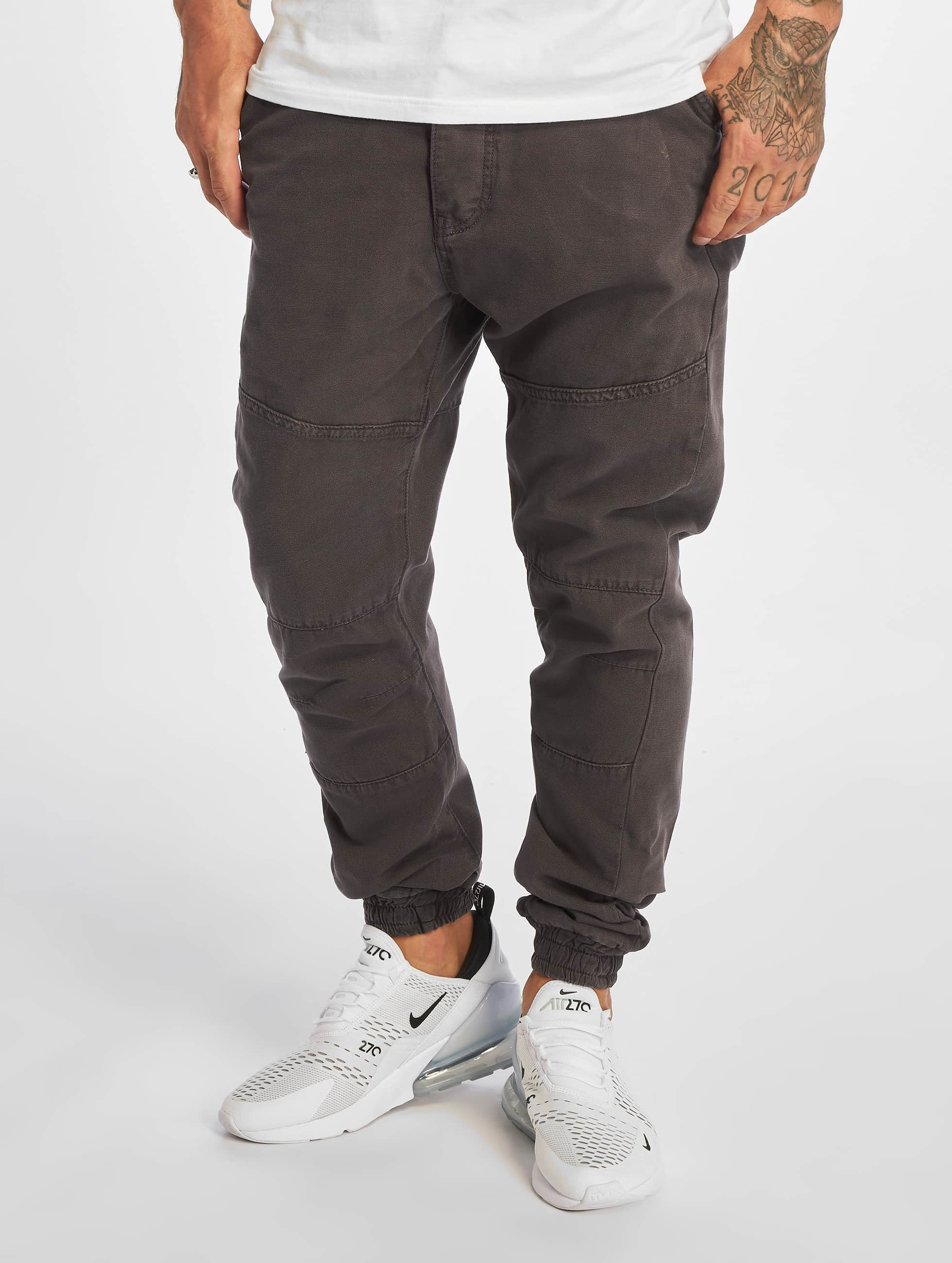 Just Rhyse / Chino Börge in grey W 33