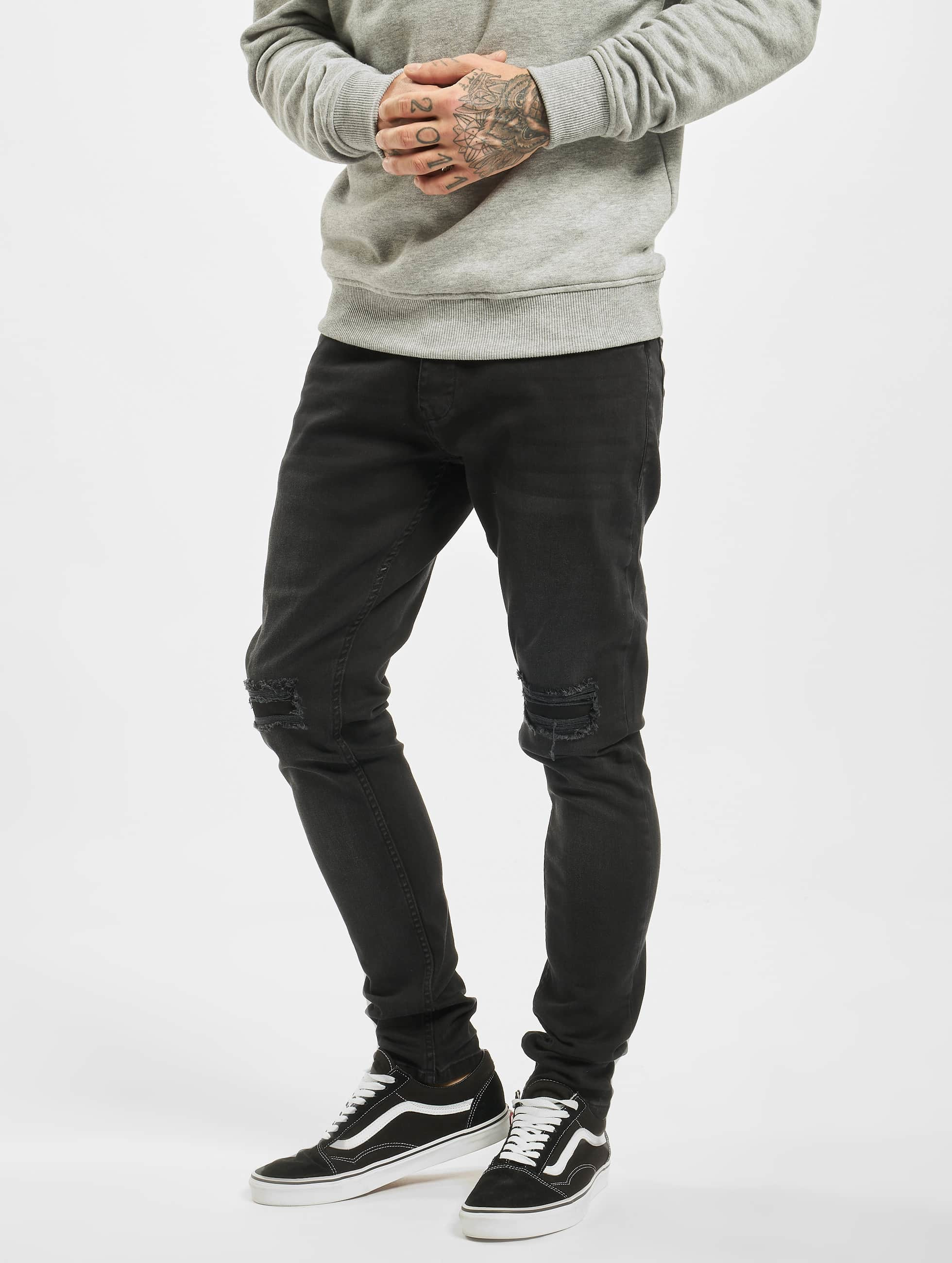 DEF / Slim Fit Jeans Ramon in black W 38