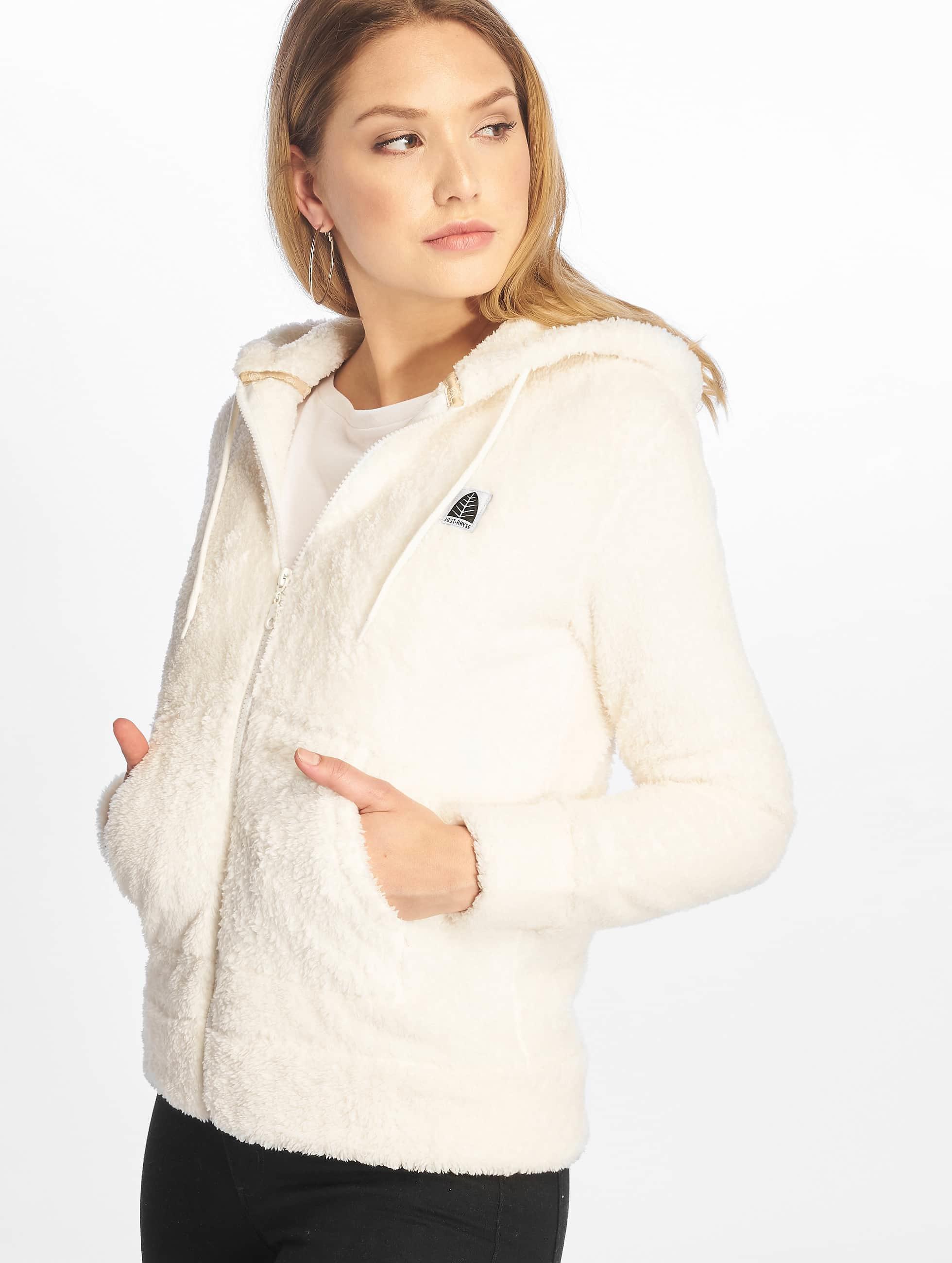 Just Rhyse / Zip Hoodie Arequipa in white XS