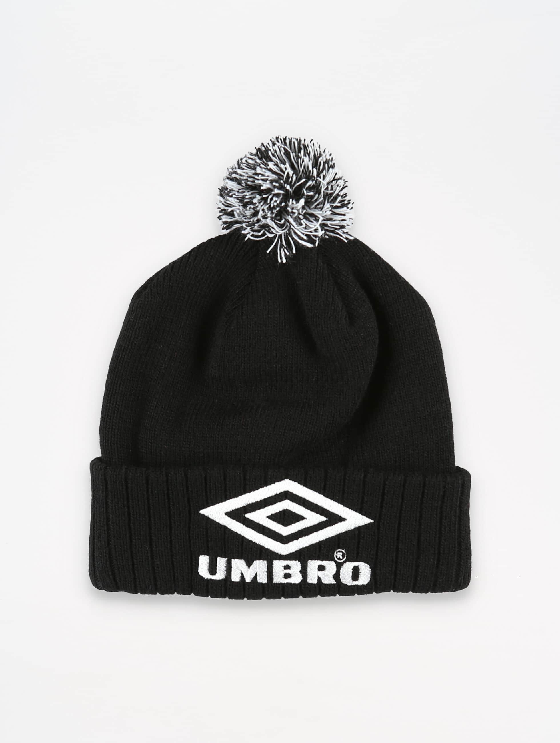 Umbro | Classic  noir Homme,Femme Bonnet hiver