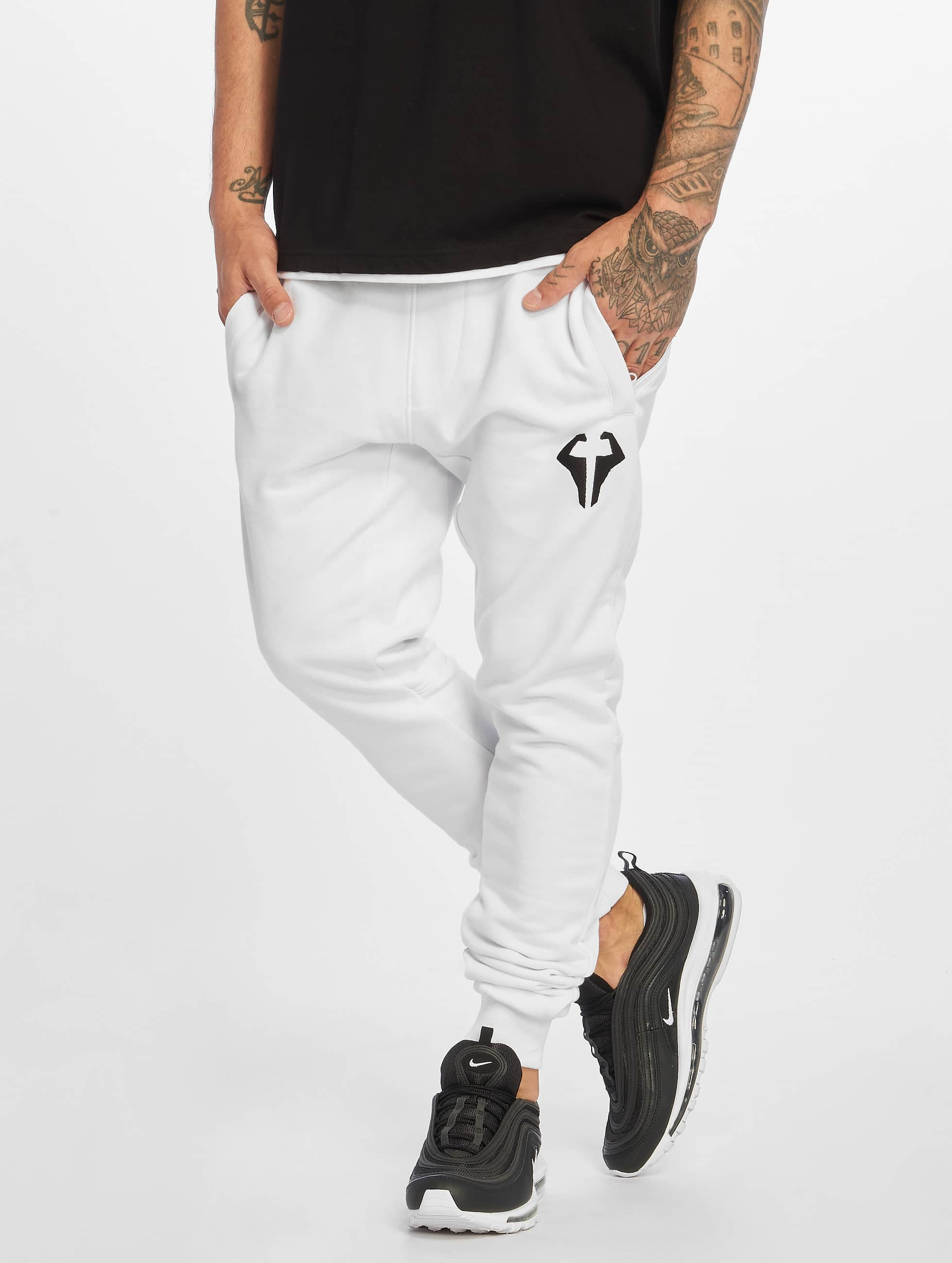 DEF / Sweat Pant beUNIQUE in white 2XL