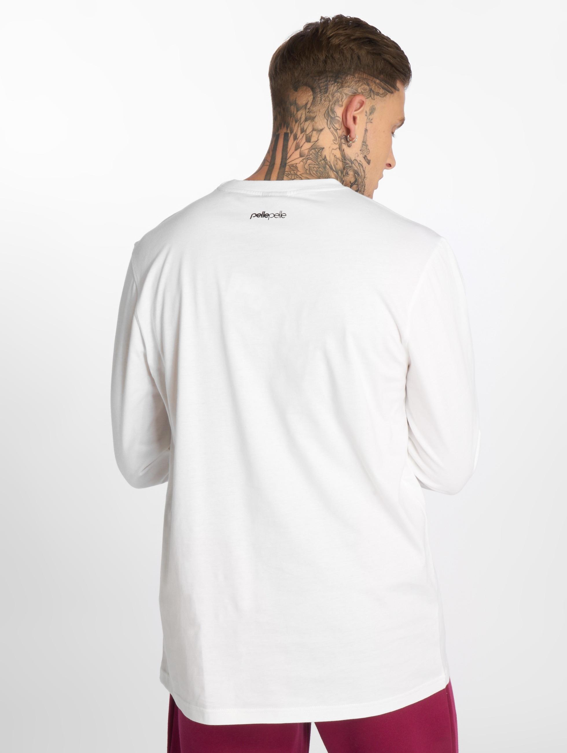 Longues Homme 2 Back The Manches shirt Hauts Basics T Pelle wqxdaBXB