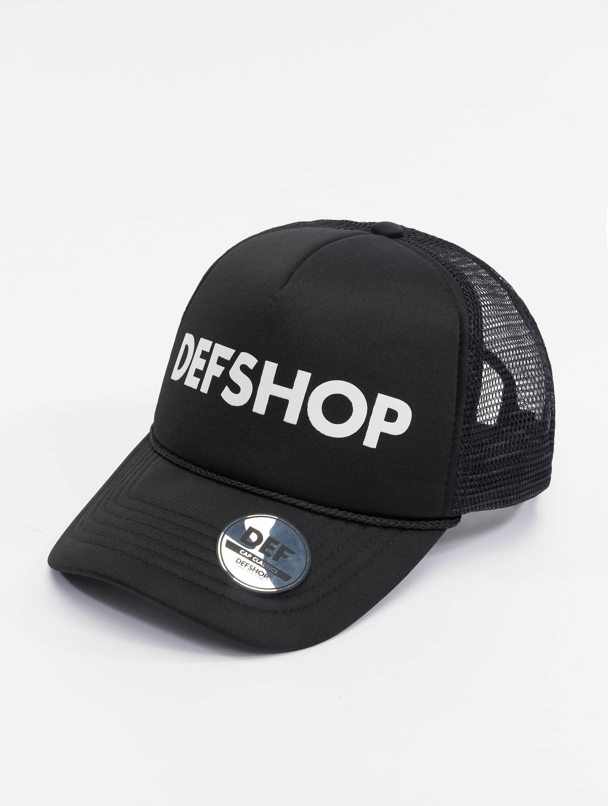 DEF / Trucker Cap Logo in black Adjustable