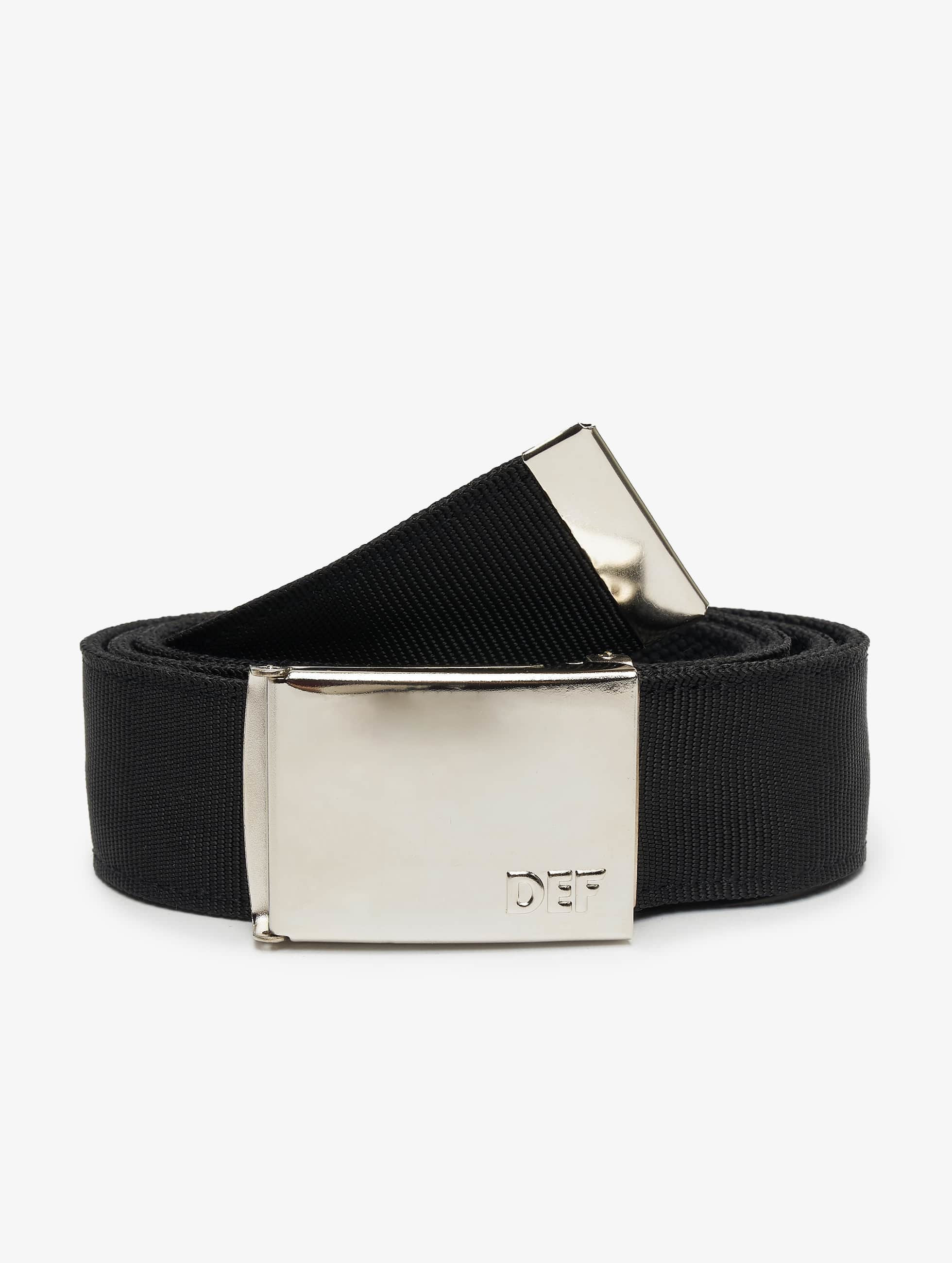 DEF / Belt Canvas in black Adjustable