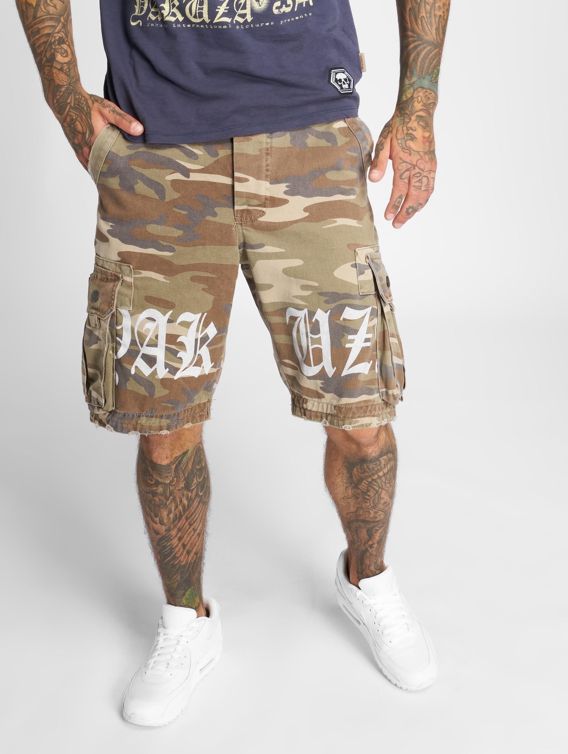 Yakuza | Skull Label  camouflage Homme Short