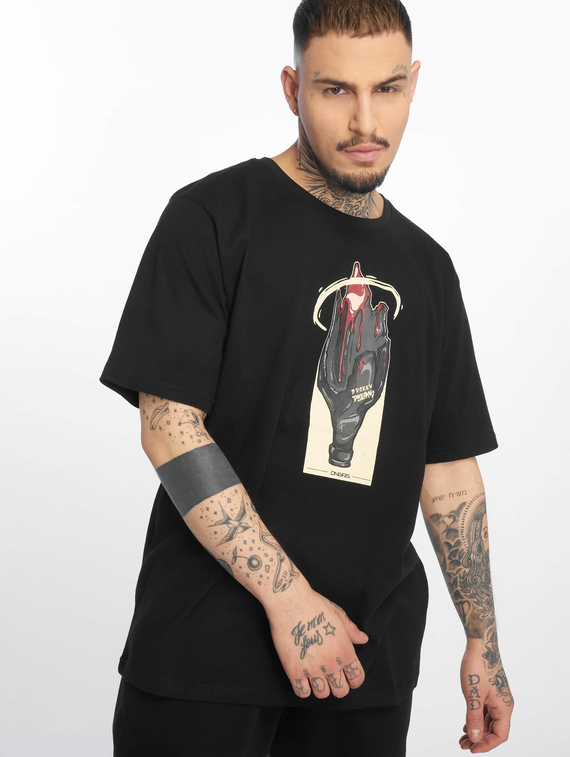 Dangerous DNGRS / T-Shirt DNGRS Broken Dreams in black XL