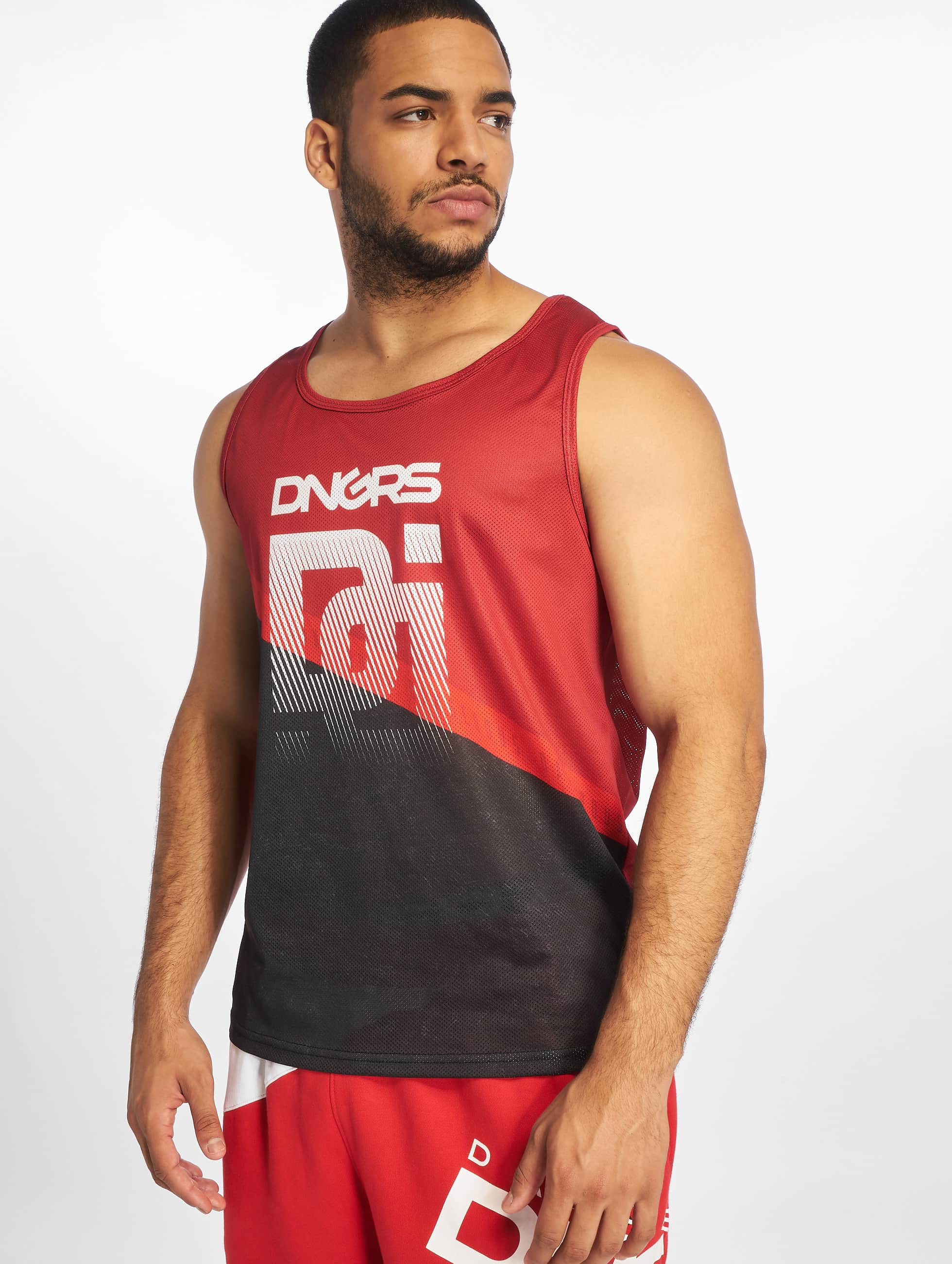 Dangerous DNGRS / Tank Tops Trick Tank in red XL