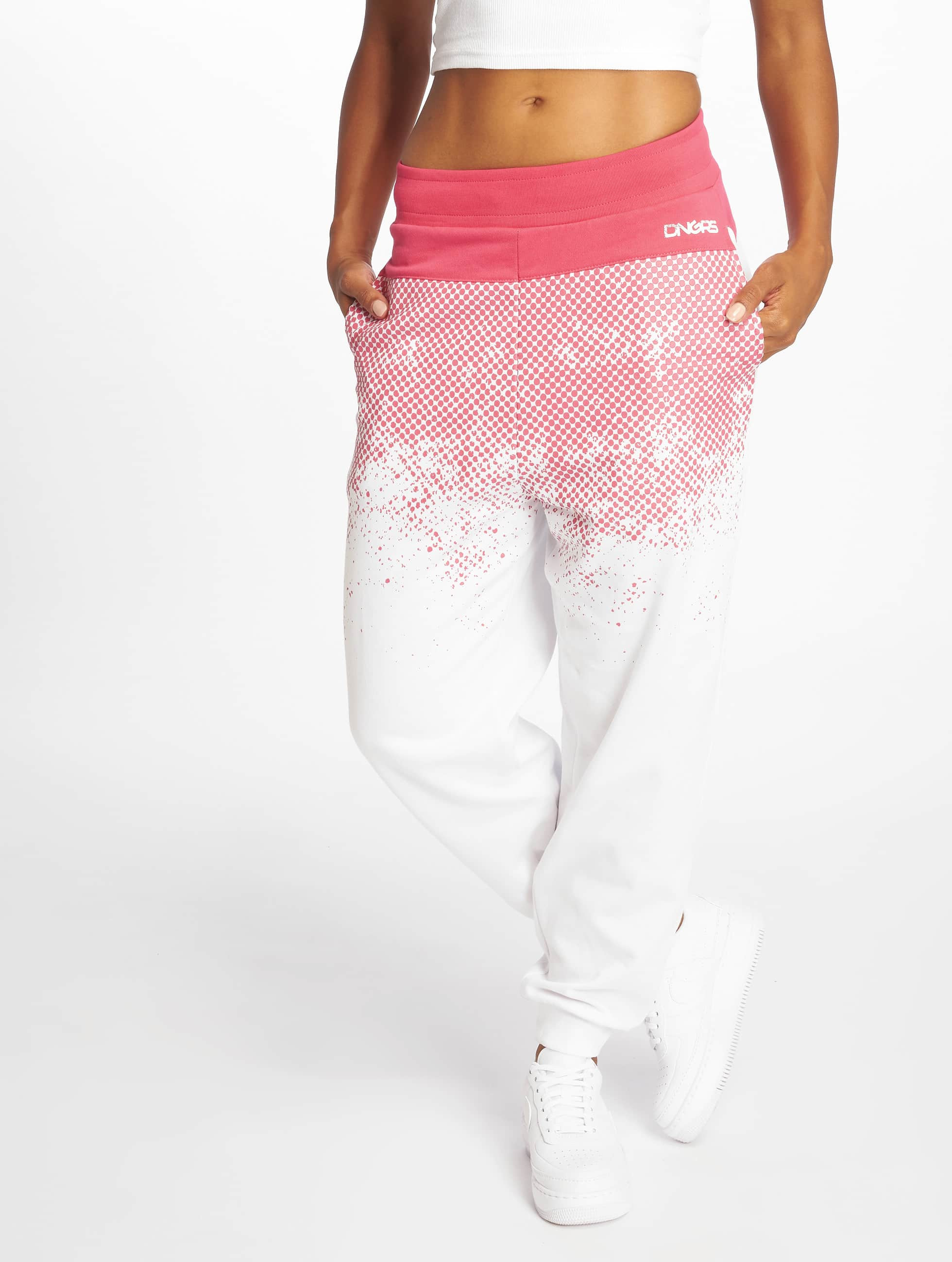 Dangerous DNGRS / Sweat Pant DNGRS Fawn in white XS