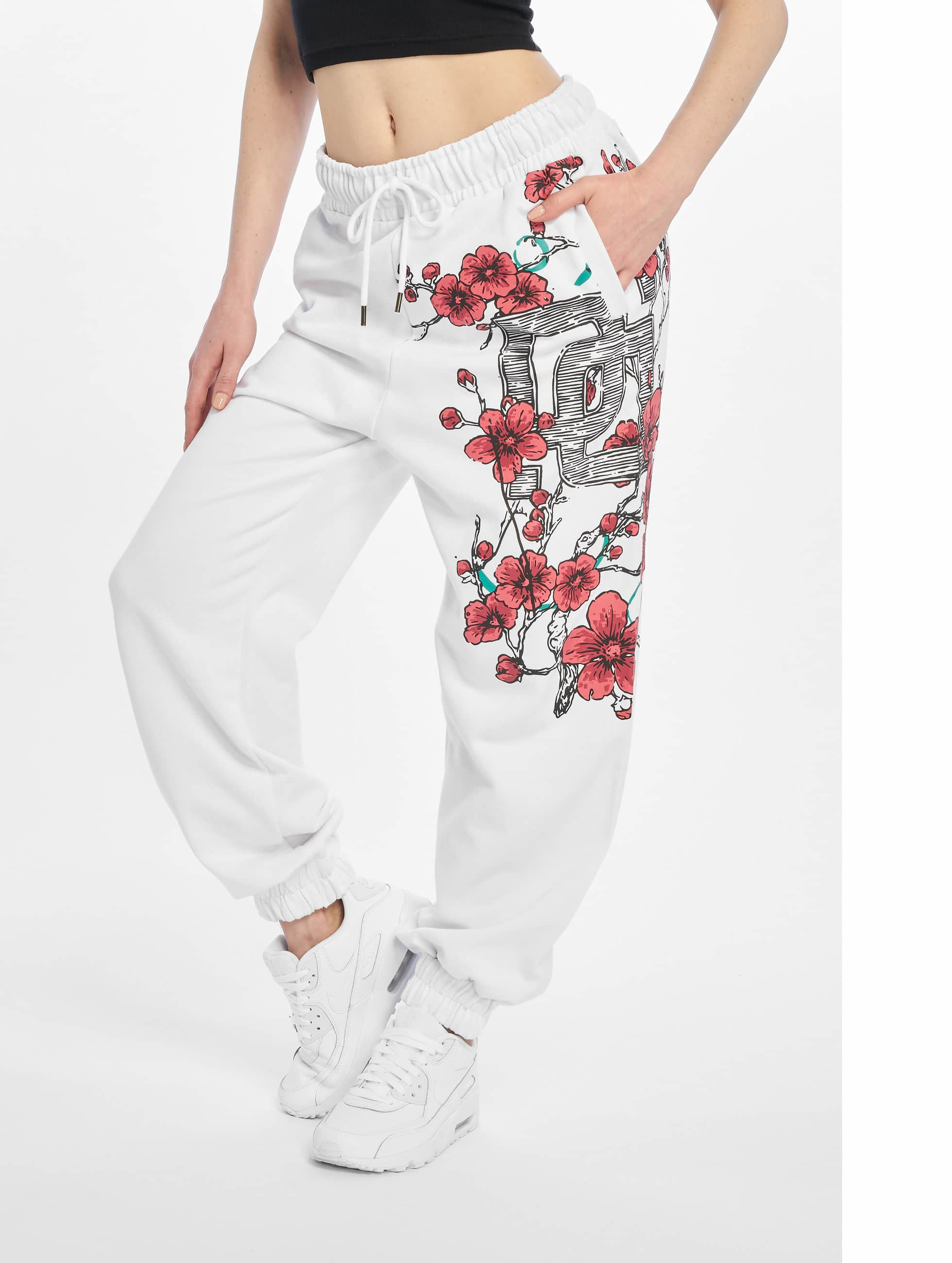 Dangerous DNGRS / Sweat Pant Choice in white XS