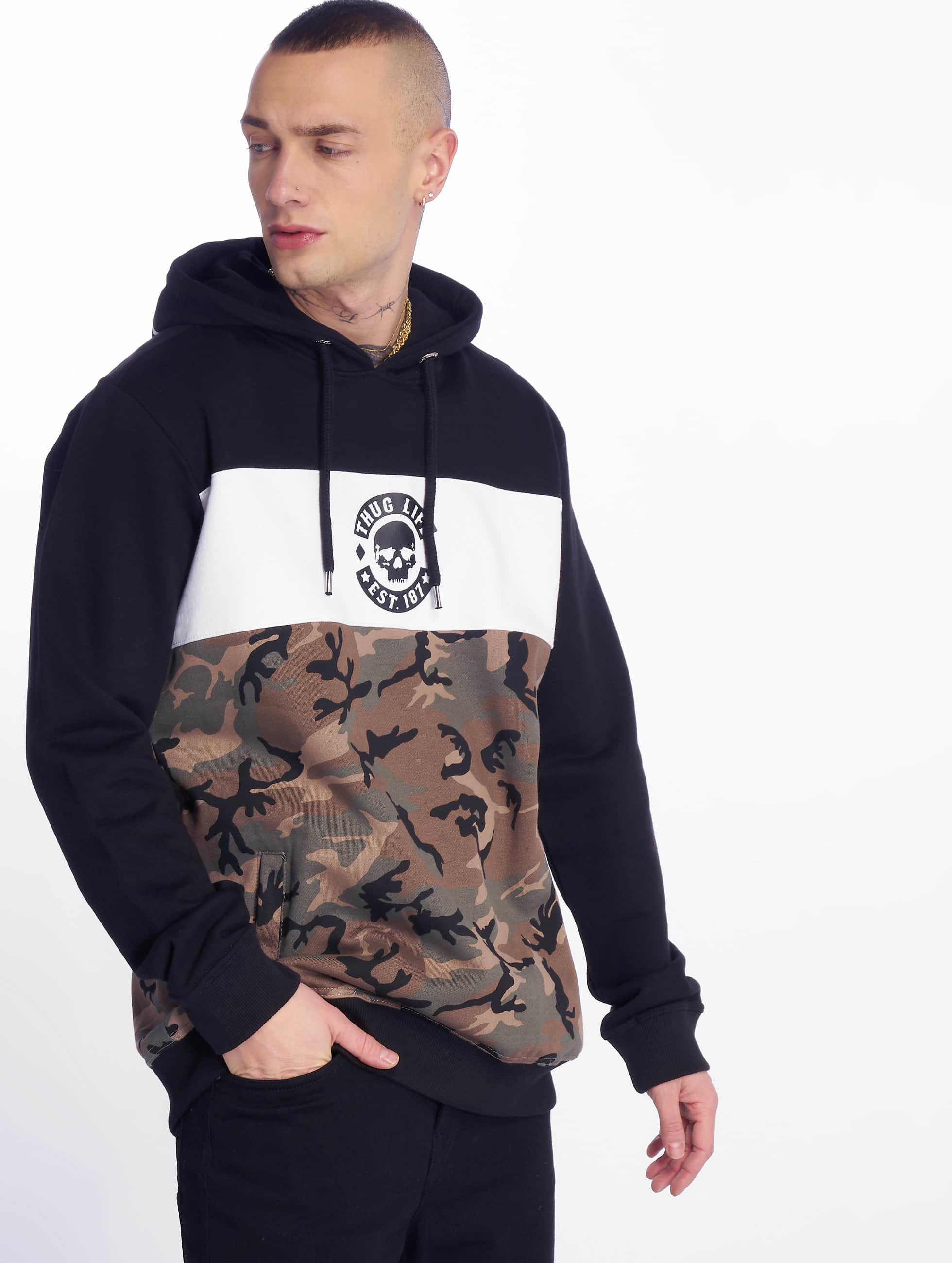 Thug Life / Hoodie Lion in camouflage XL