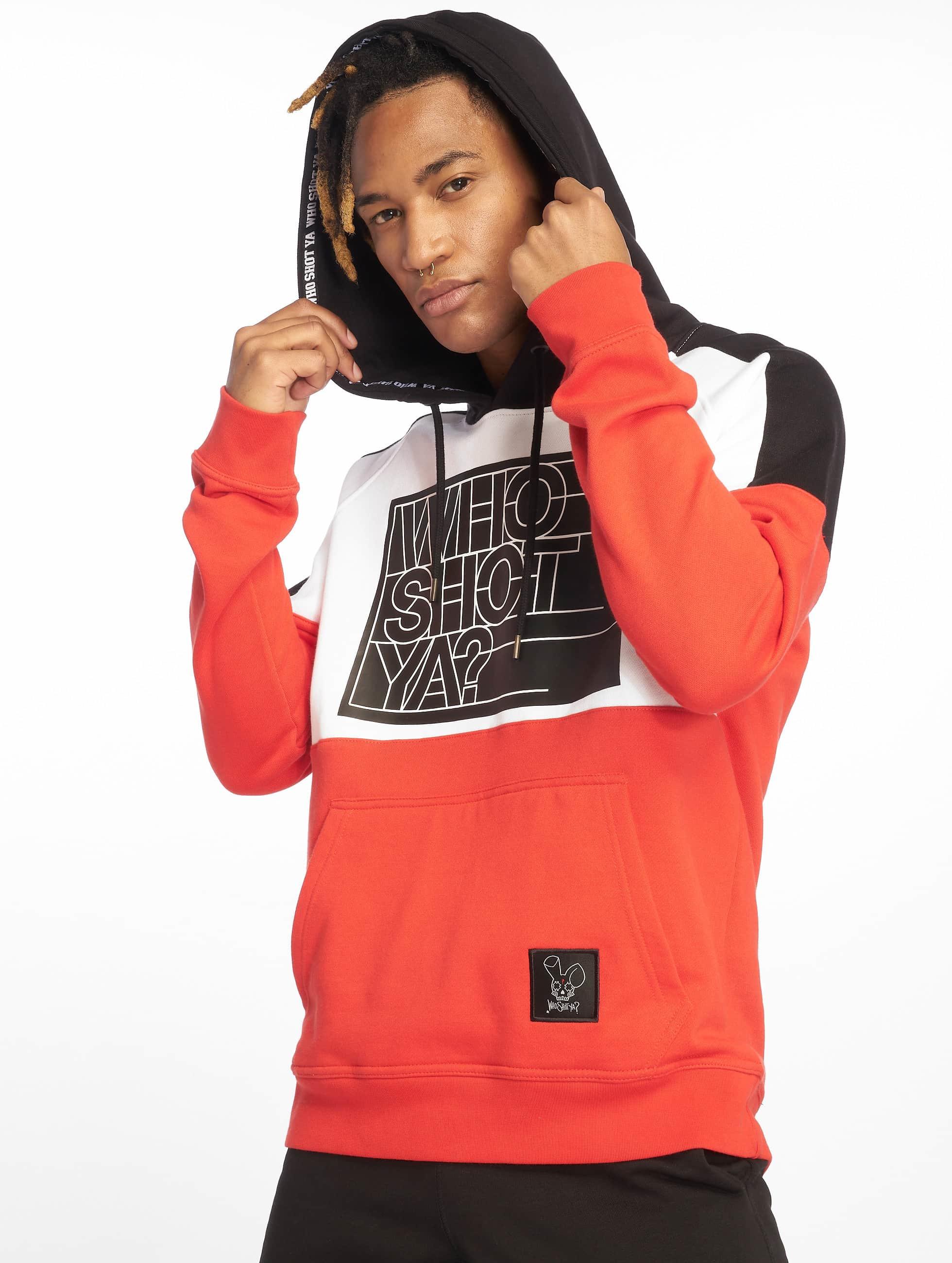 Who Shot Ya? / Hoodie Sling in red XL
