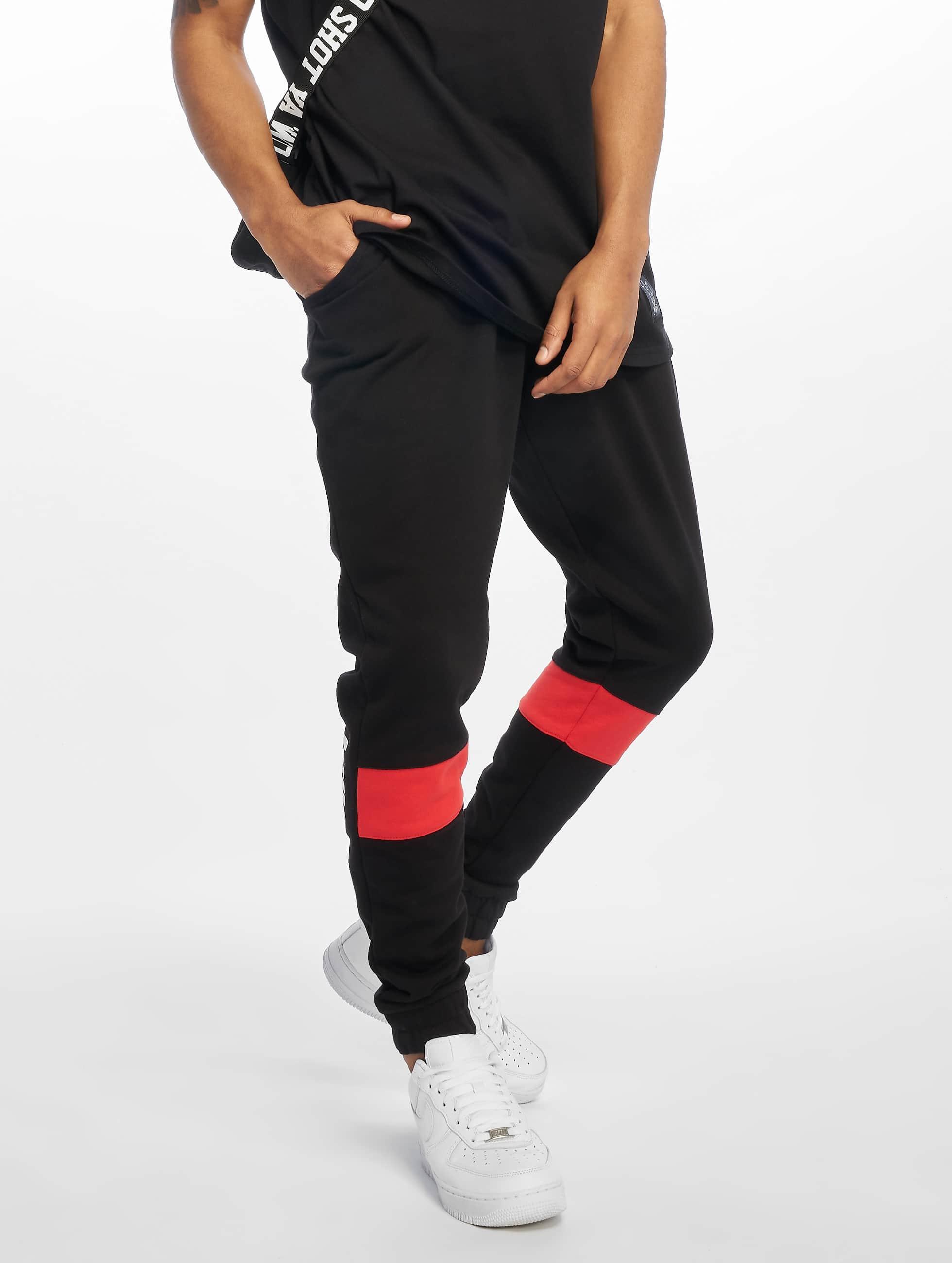 Who Shot Ya? / Sweat Pant Originals in black 3XL