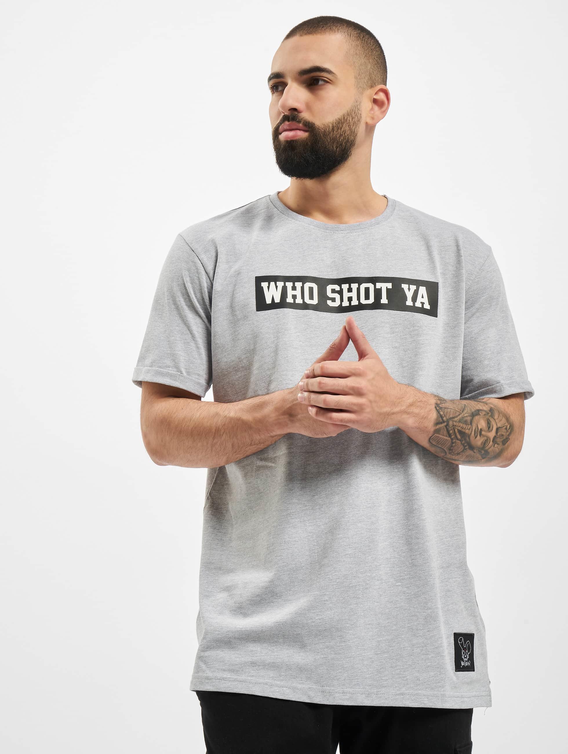 Who Shot Ya? / T-Shirt Fresh W in grey XL