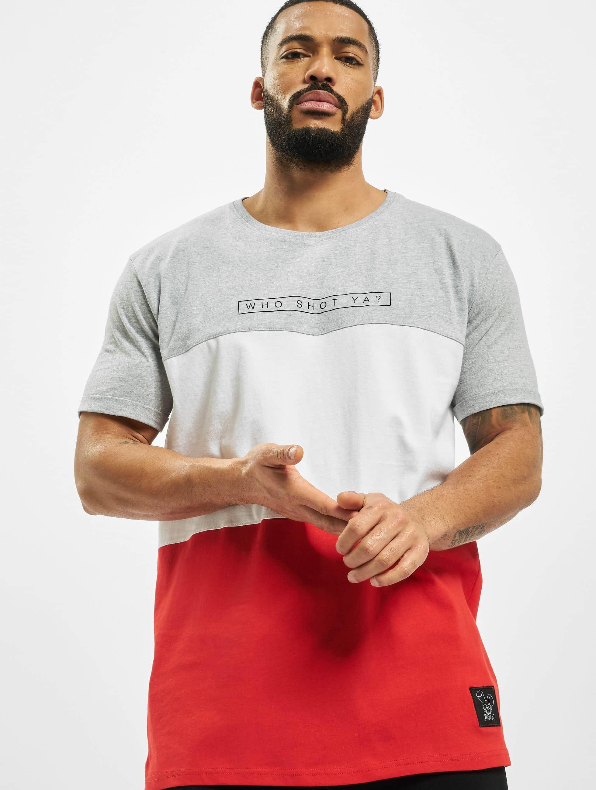 Who Shot Ya? / T-Shirt 3Tone in grey S