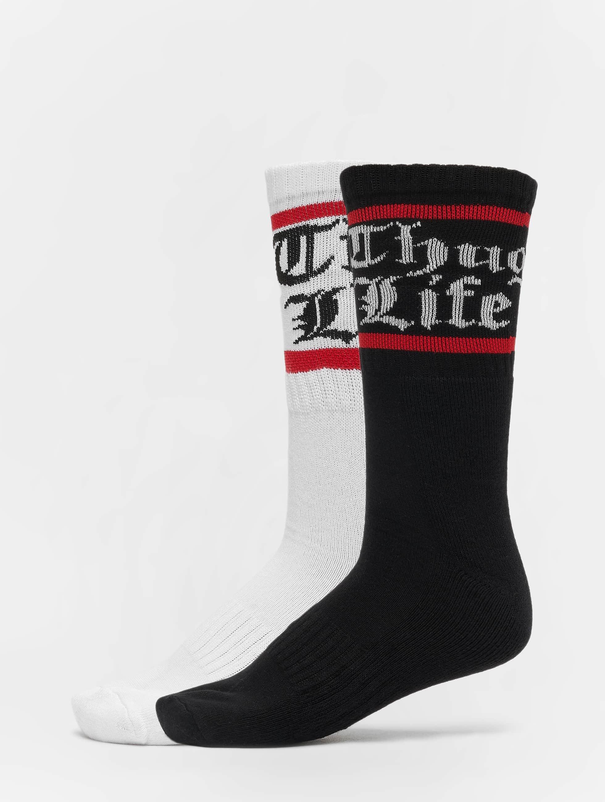 Thug Life / Socks Bo double in white 43-46