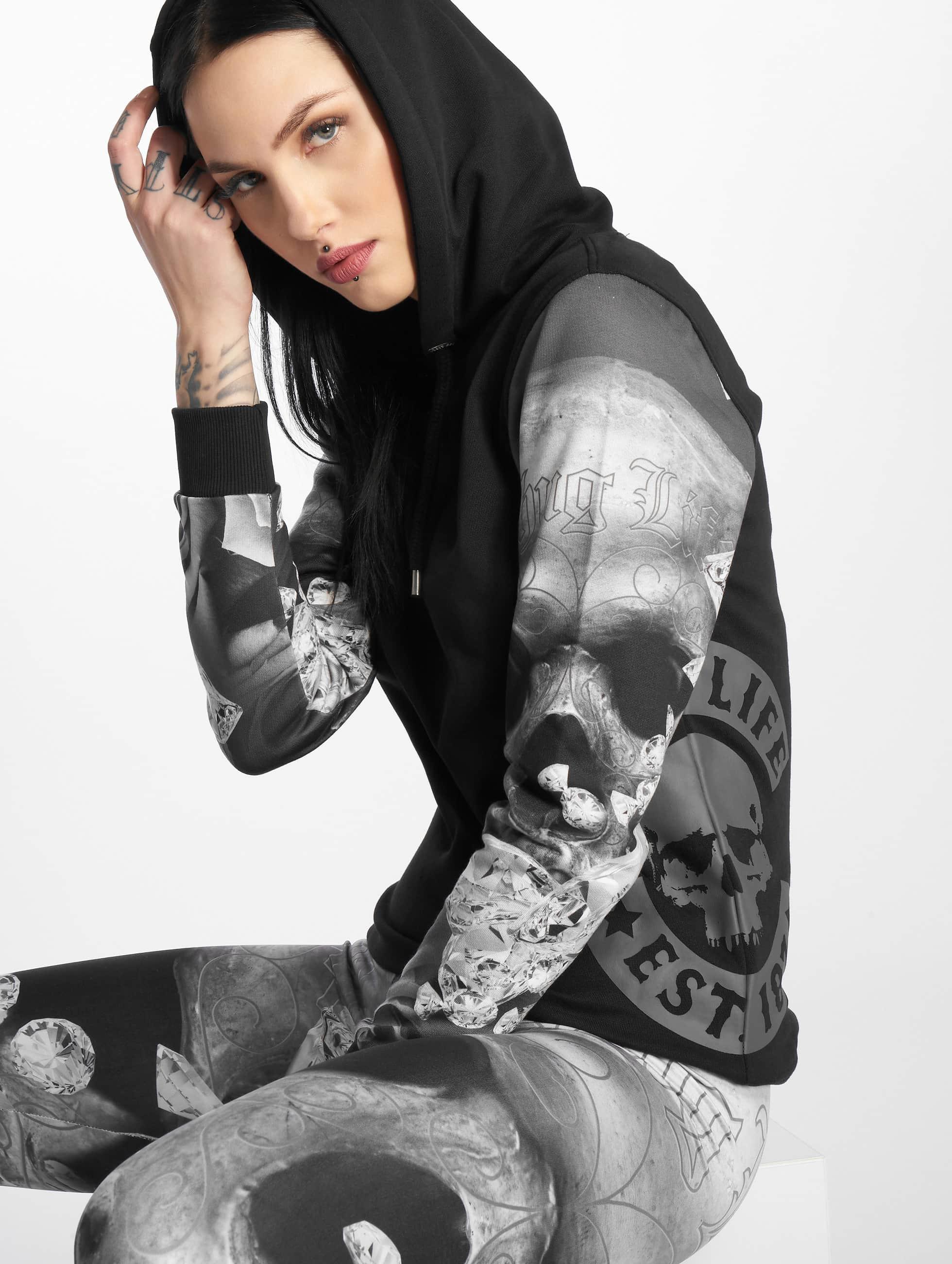 Thug Life / Hoodie Wafina in black XS