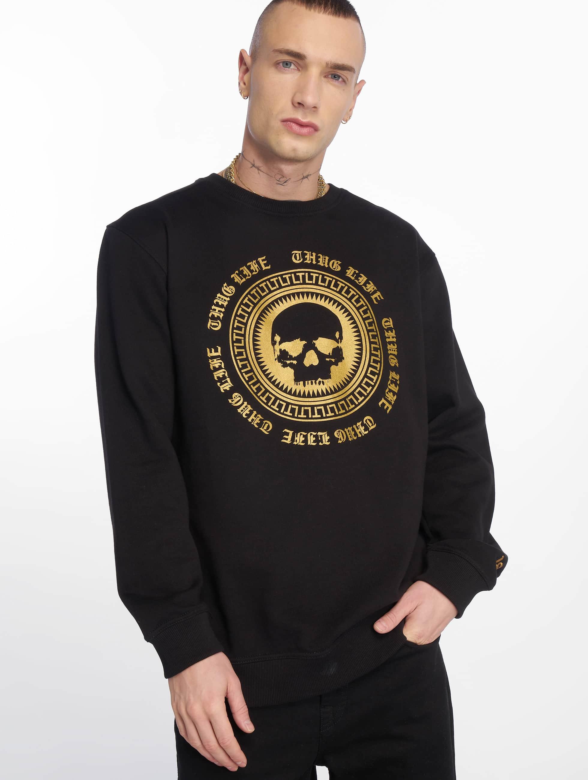 Thug Life / Jumper Hurn in black XL