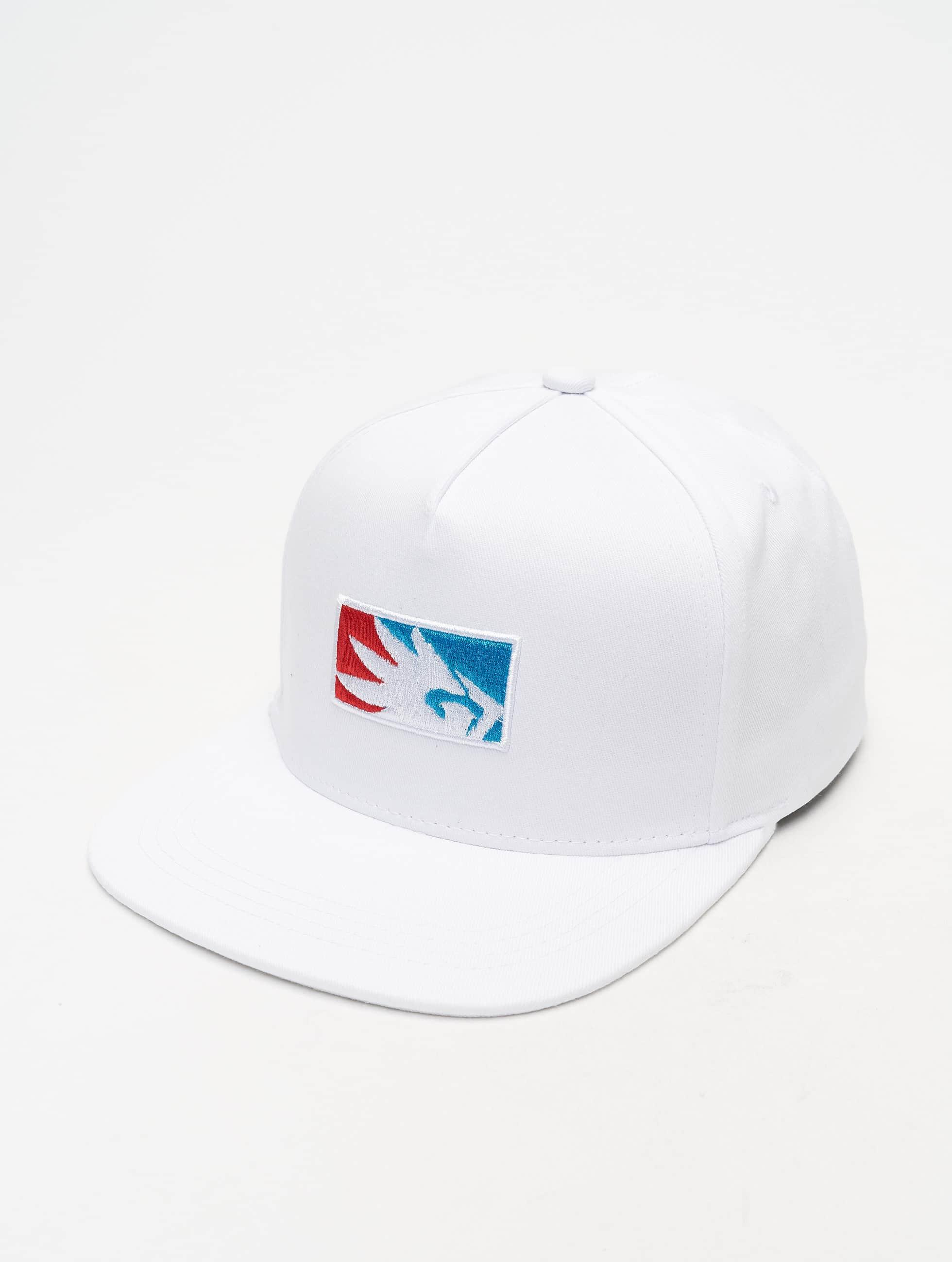Dangerous DNGRS / Snapback Cap Base in white Adjustable
