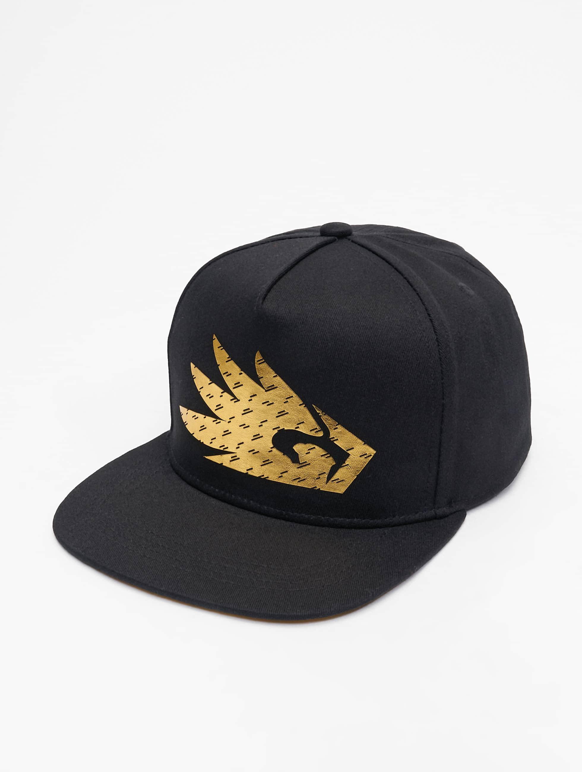 Dangerous DNGRS / Snapback Cap Logo in black Adjustable
