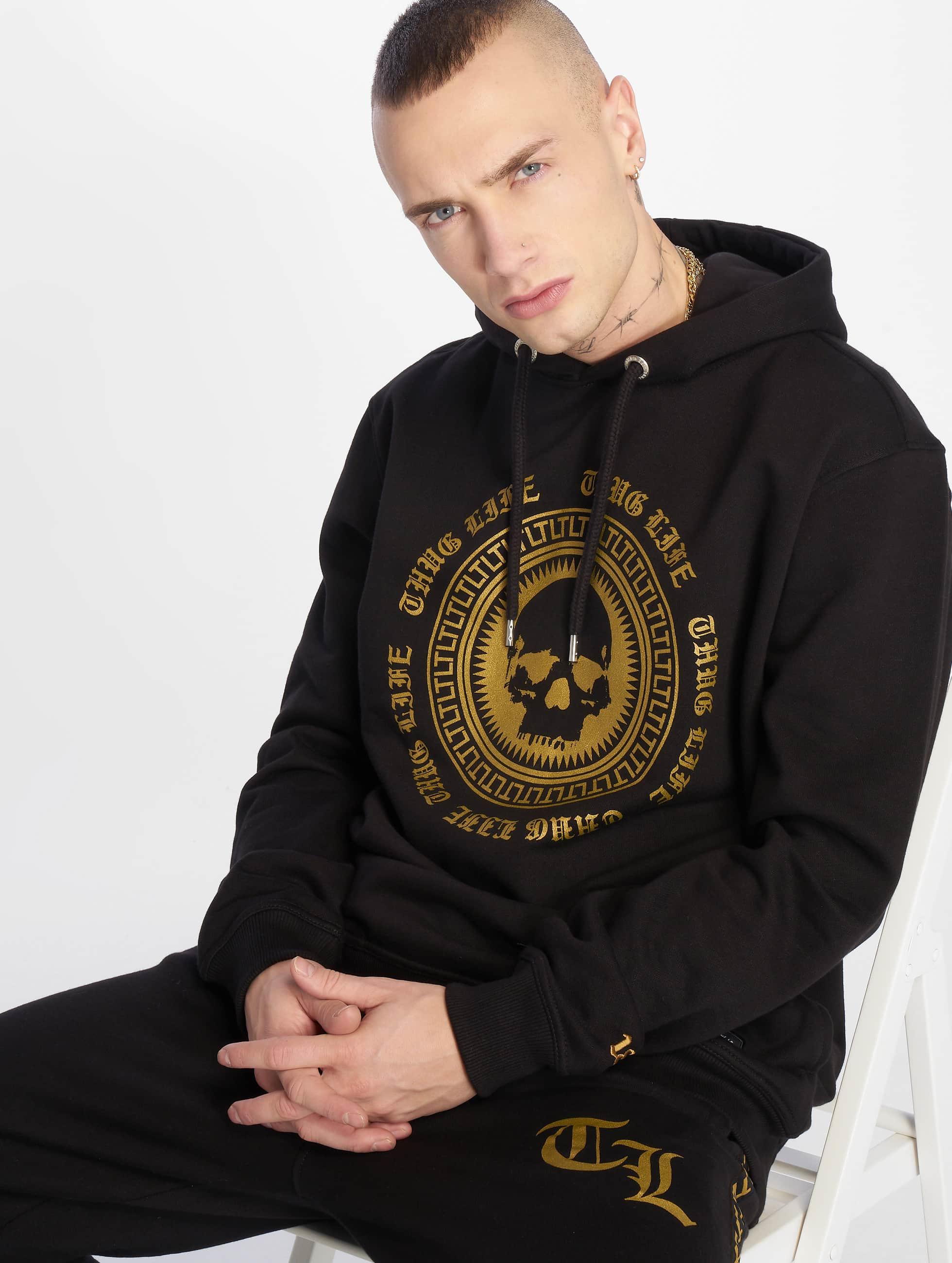 Thug Life / Hoodie Aggo in black XL