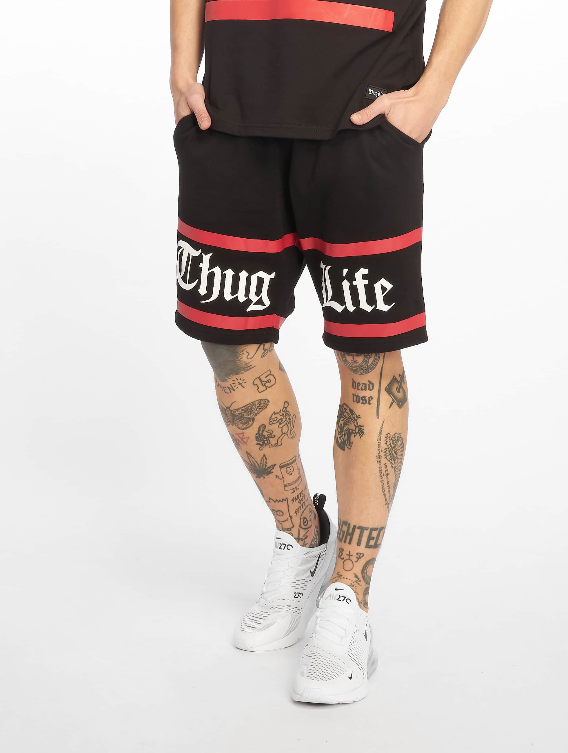 Thug Life / Short Brick in black 2XL