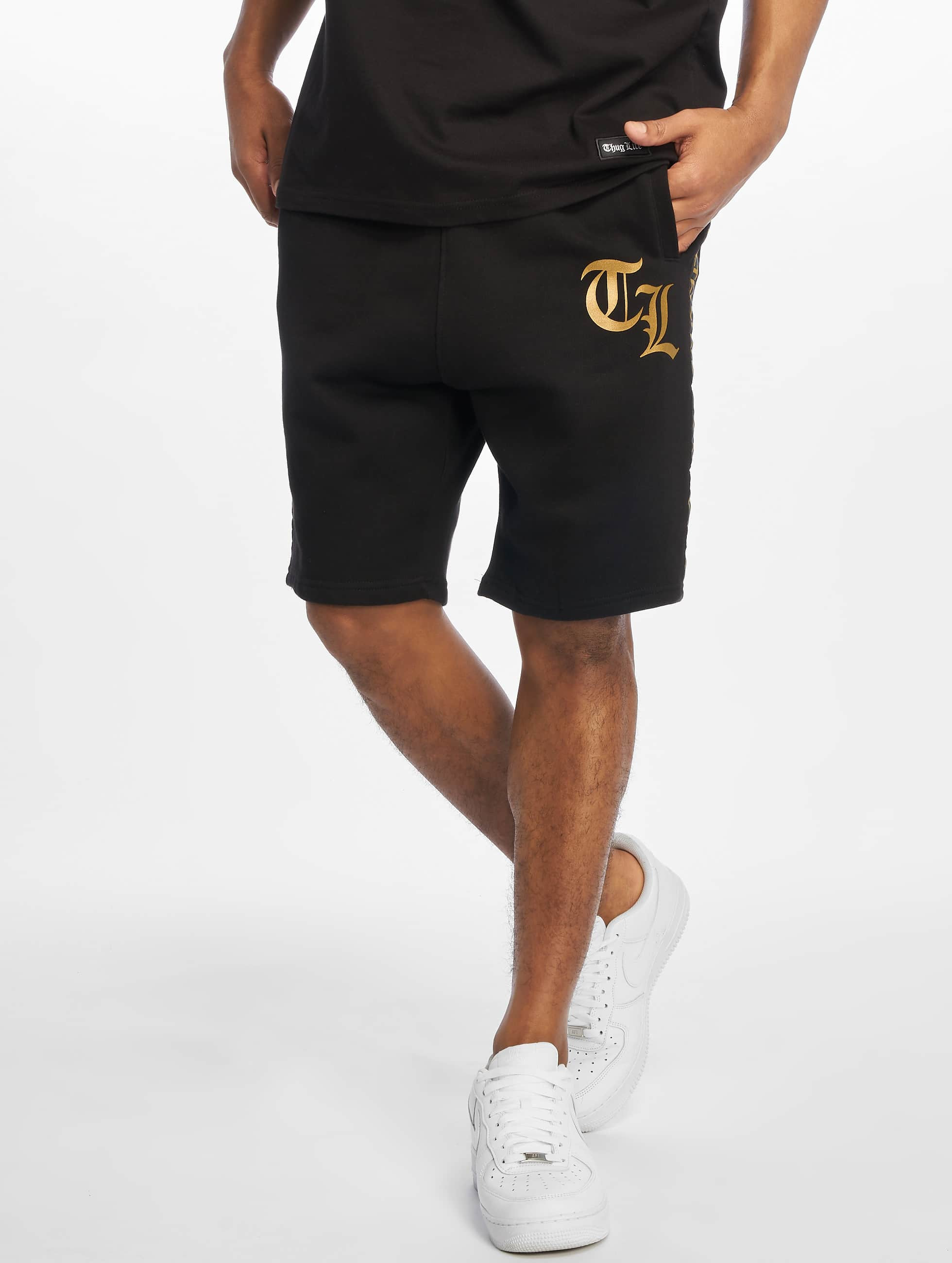 Thug Life / Short Dize in black XL
