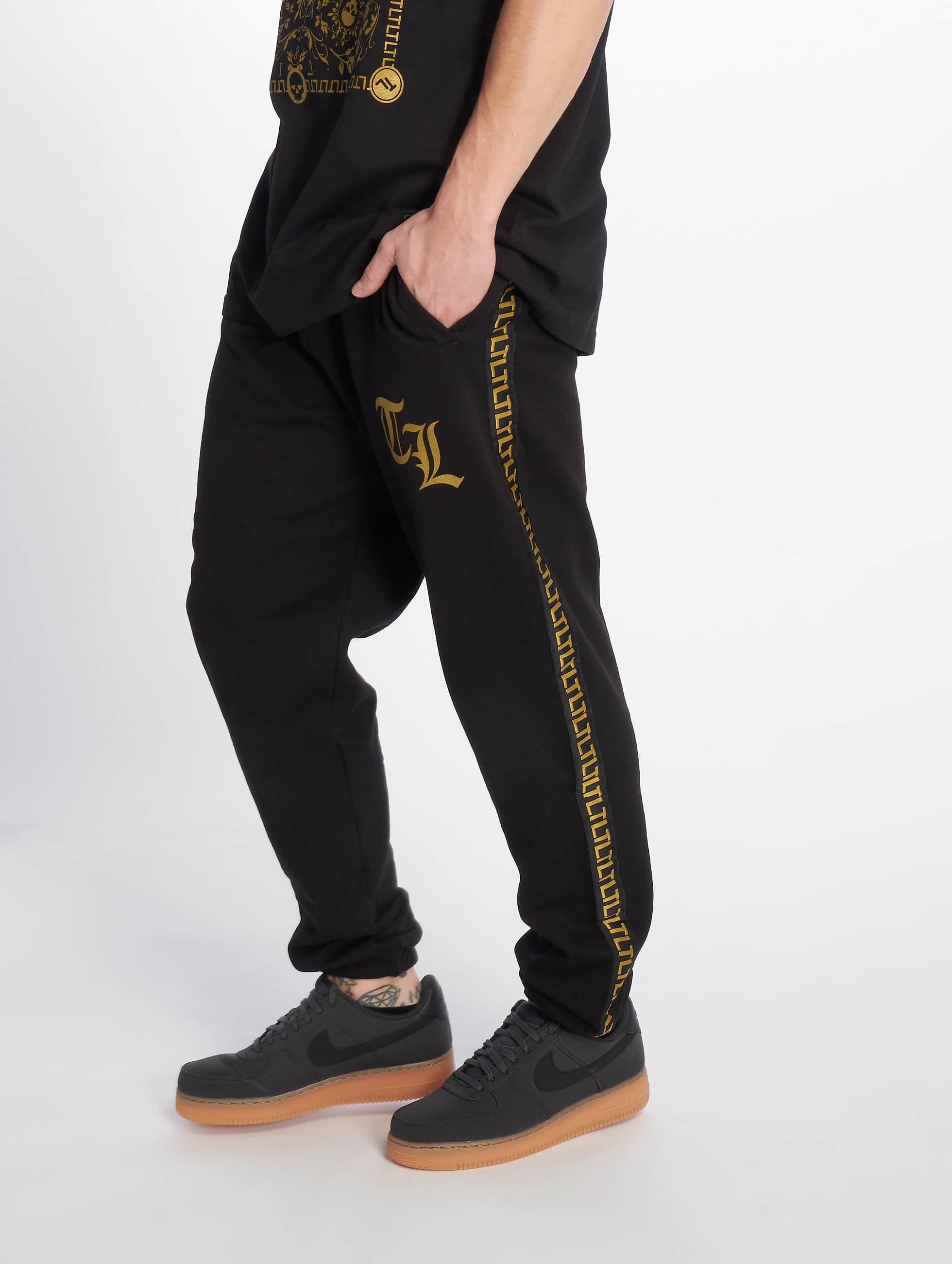 Thug Life / Sweat Pant Dende in black L