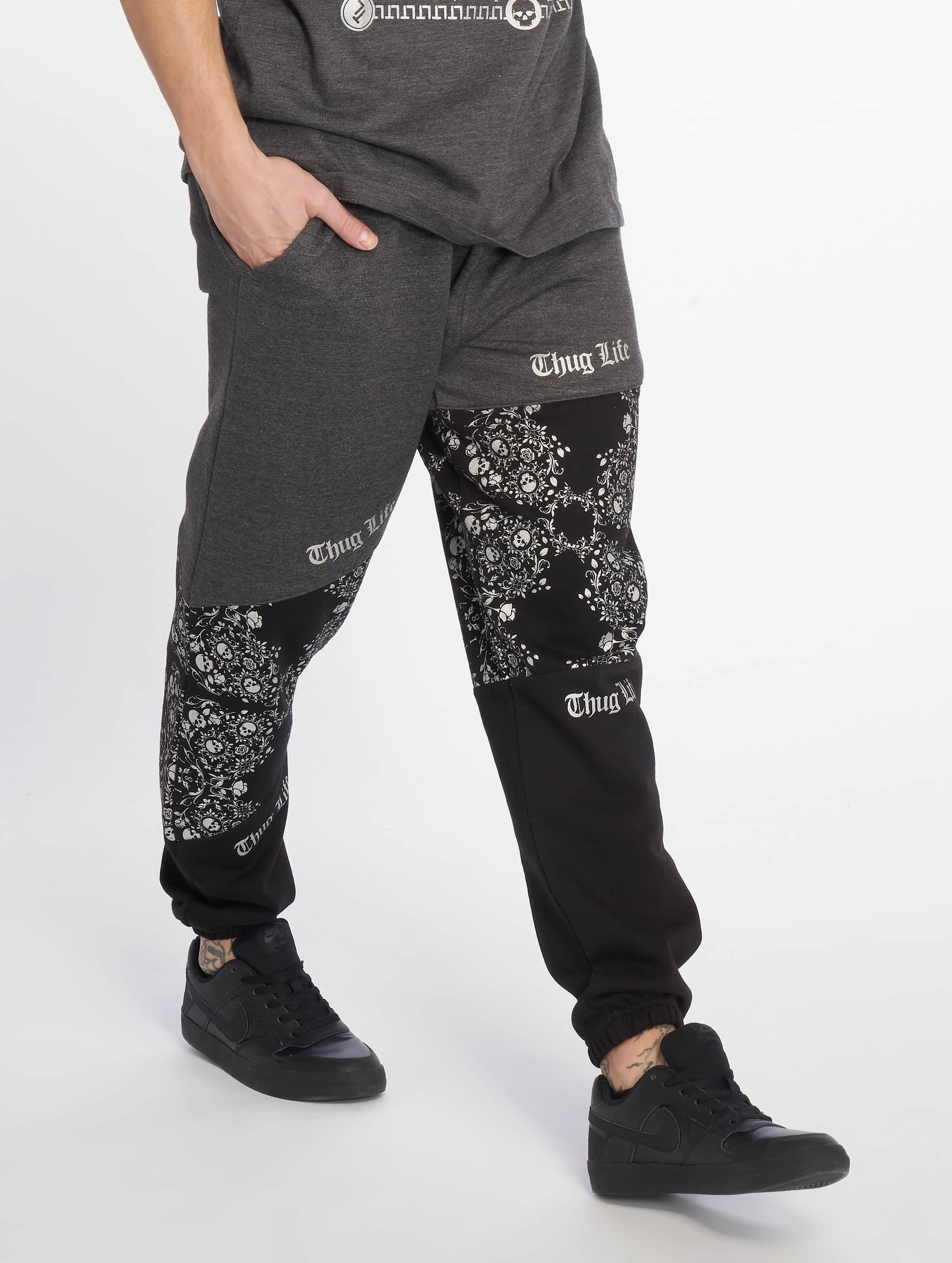 Thug Life / Sweat Pant Hamite in grey XL