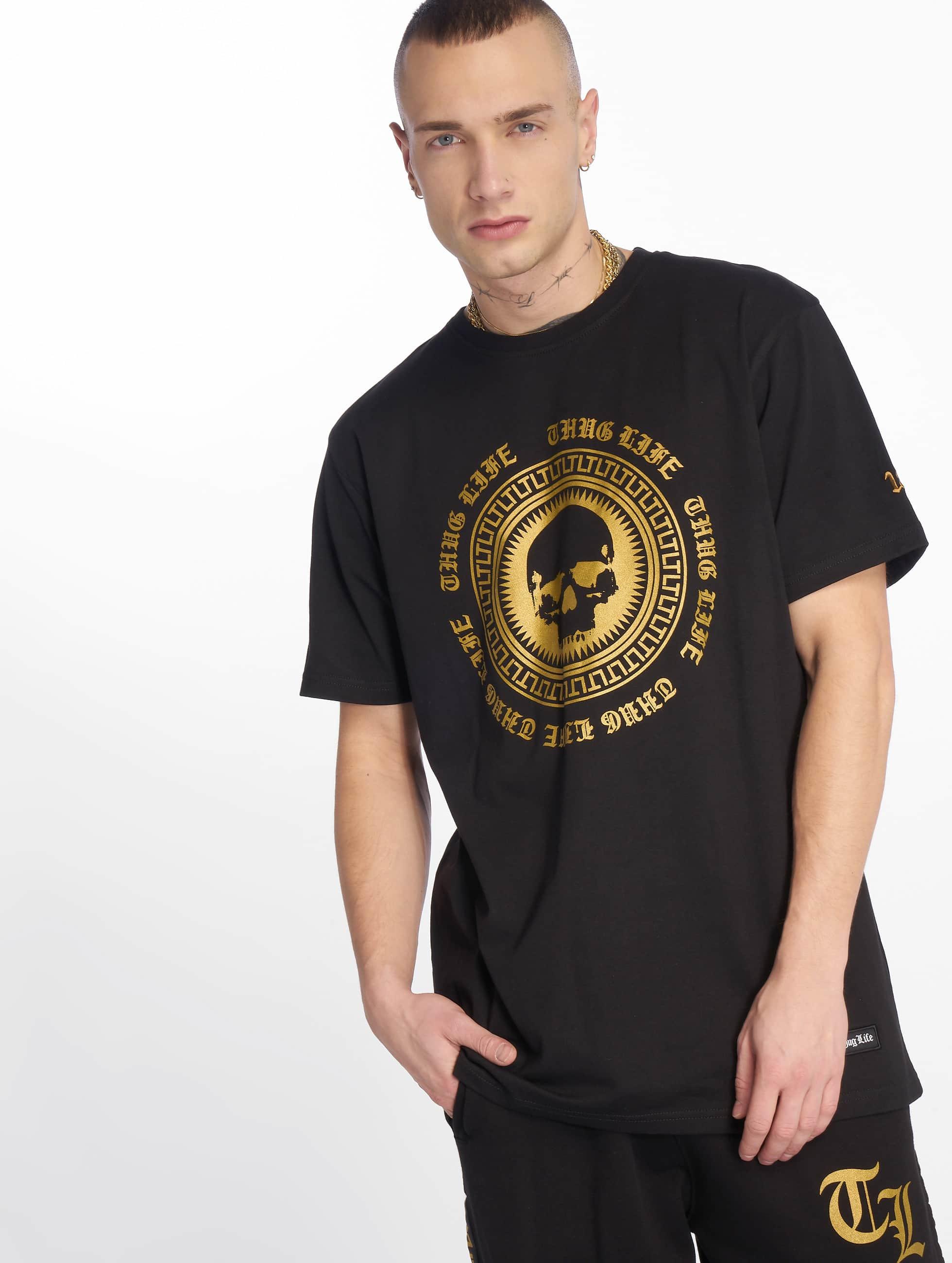 Thug Life / T-Shirt Olli in black S