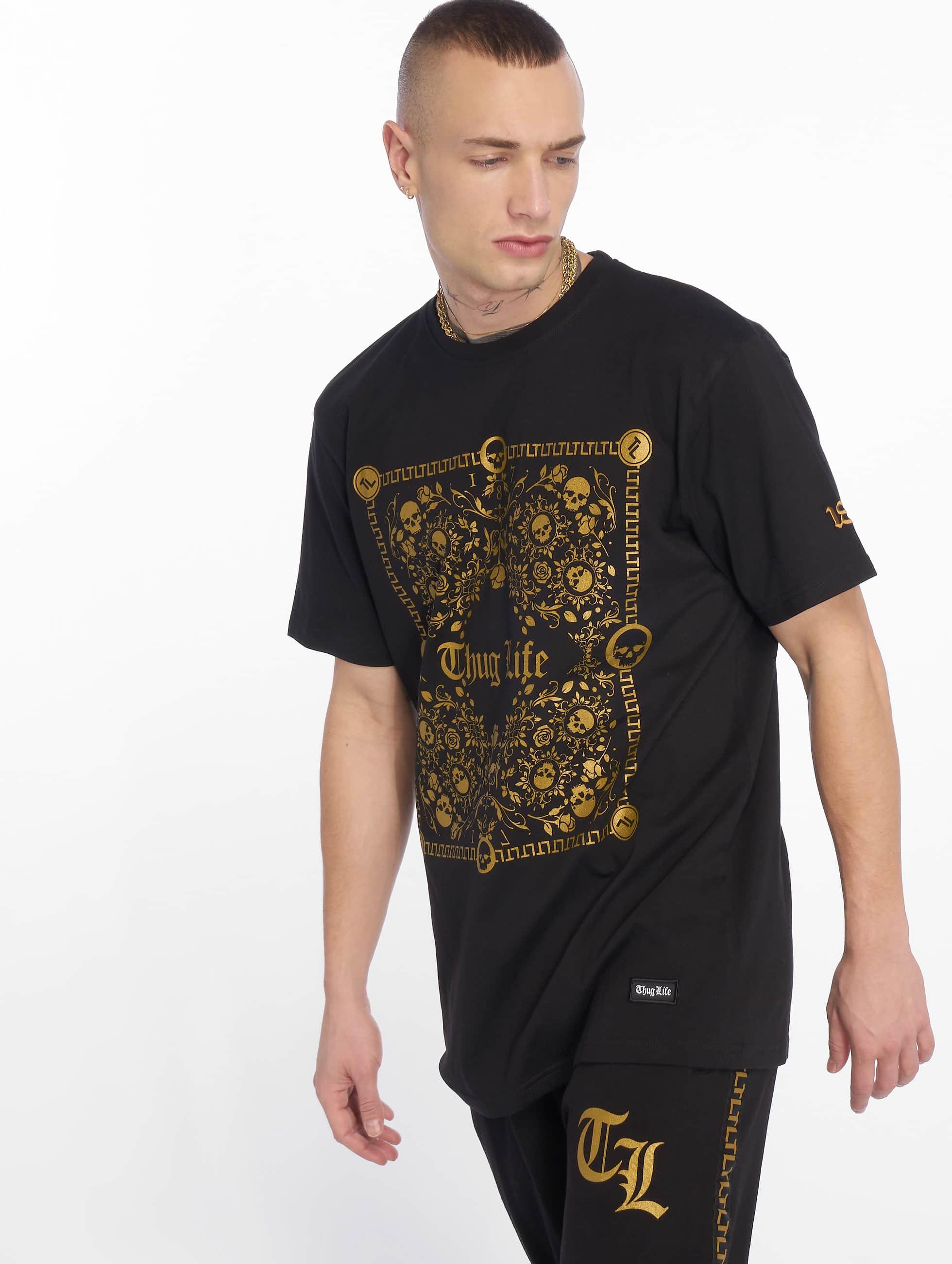 Thug Life / T-Shirt Prinz in black XL