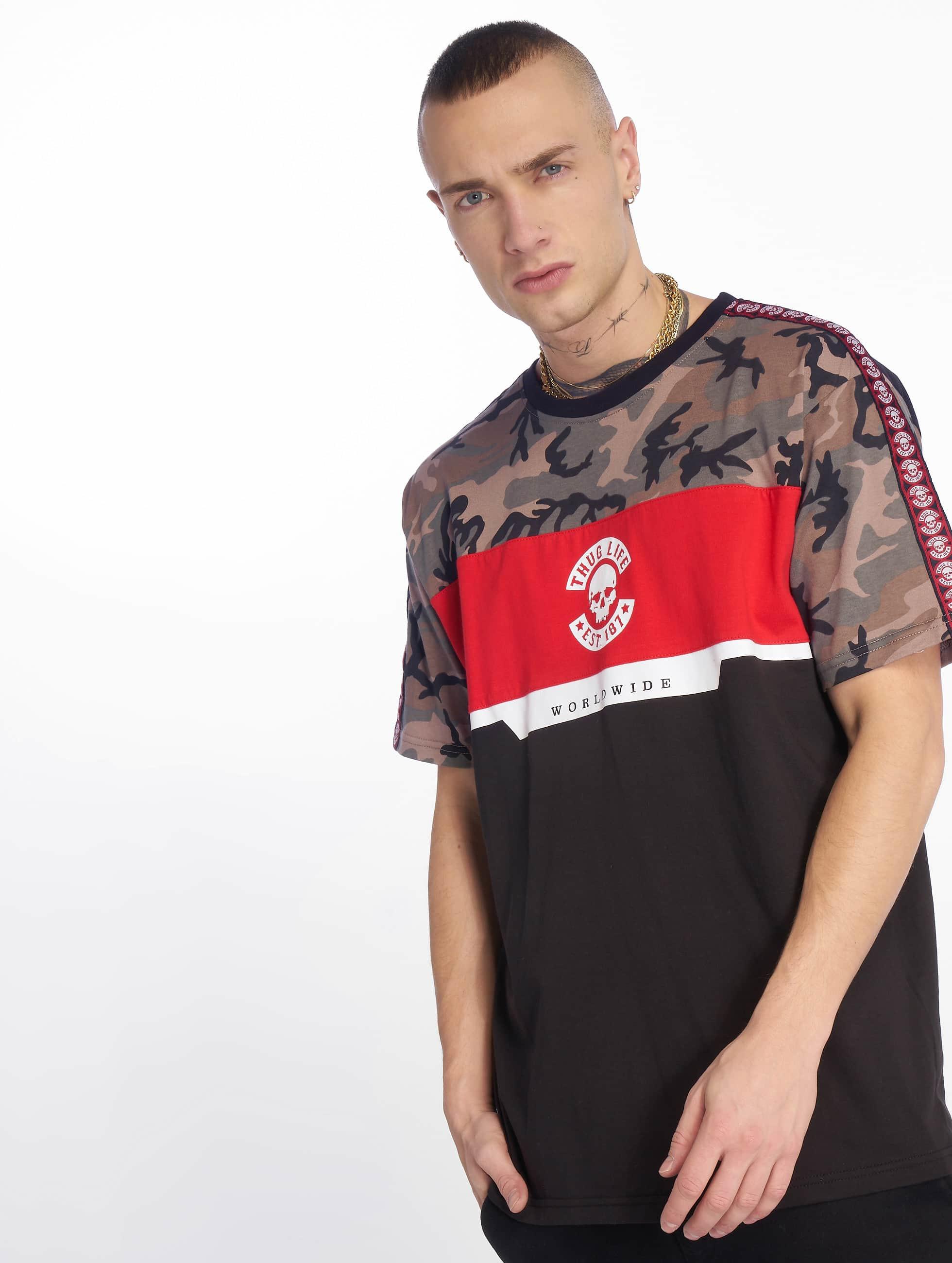 Thug Life / T-Shirt Delux in black XL