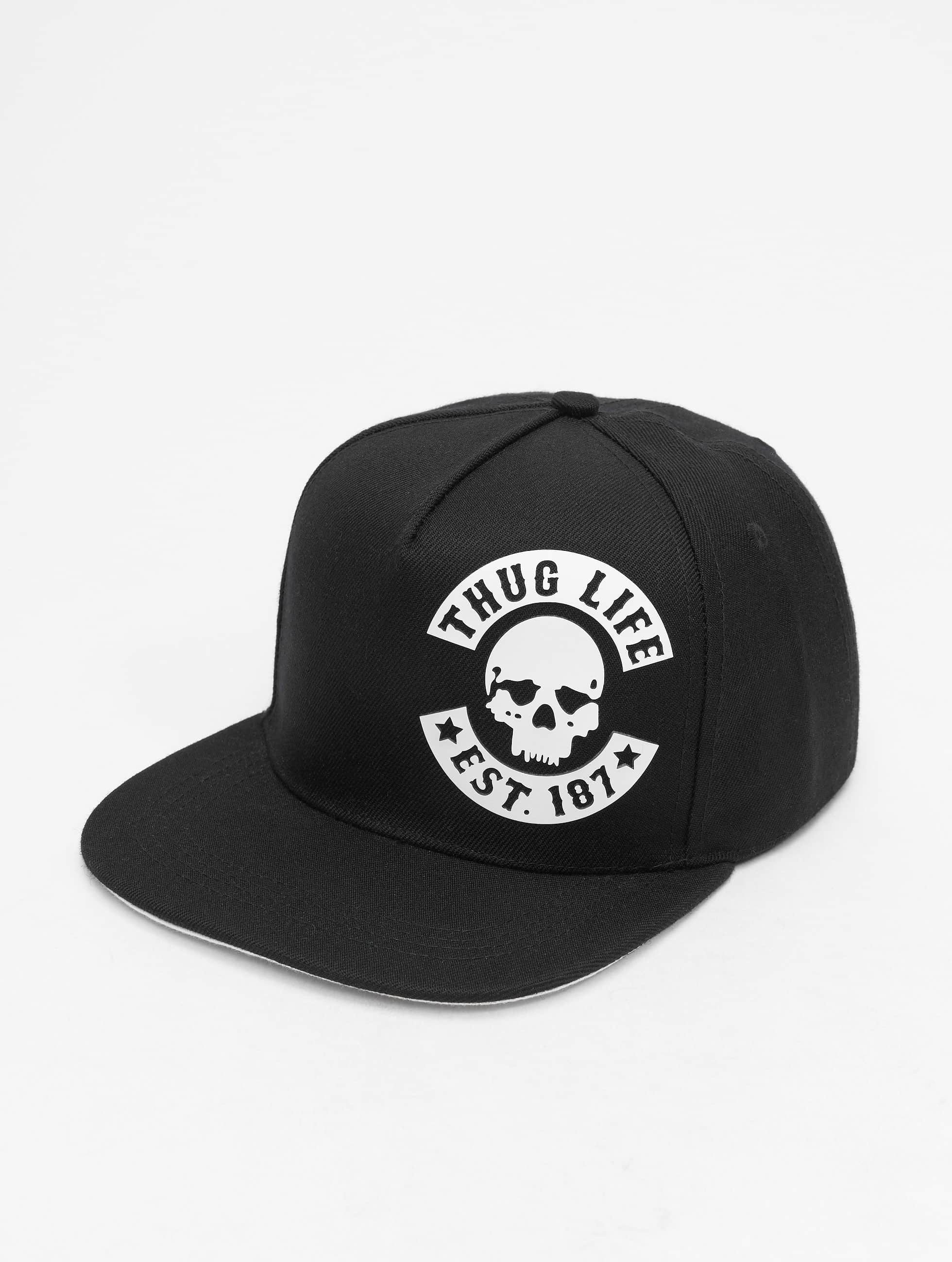 Thug Life / Snapback Cap Young in black Adjustable