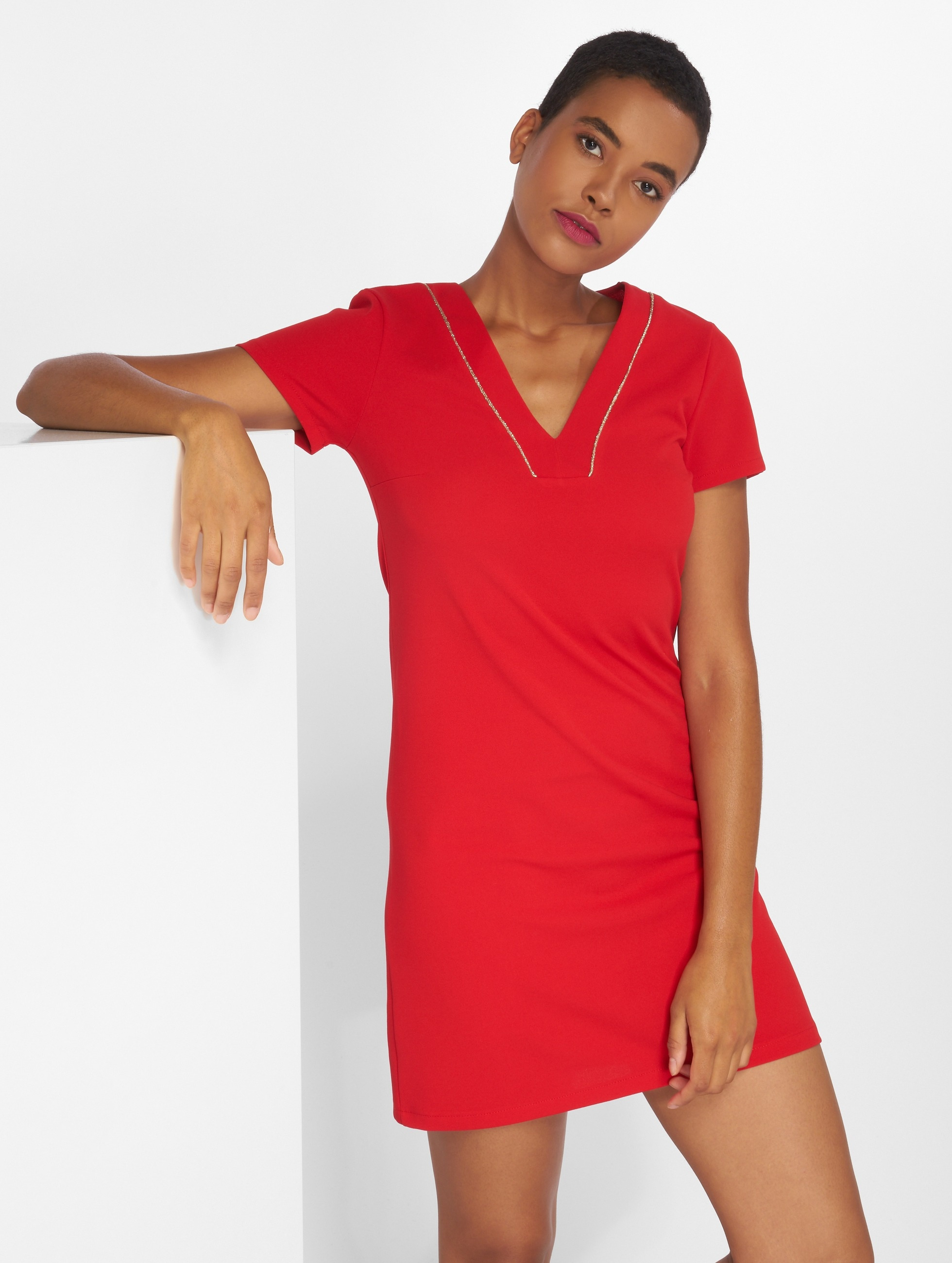 Charming Girl | Ulis rouge Femme Robe