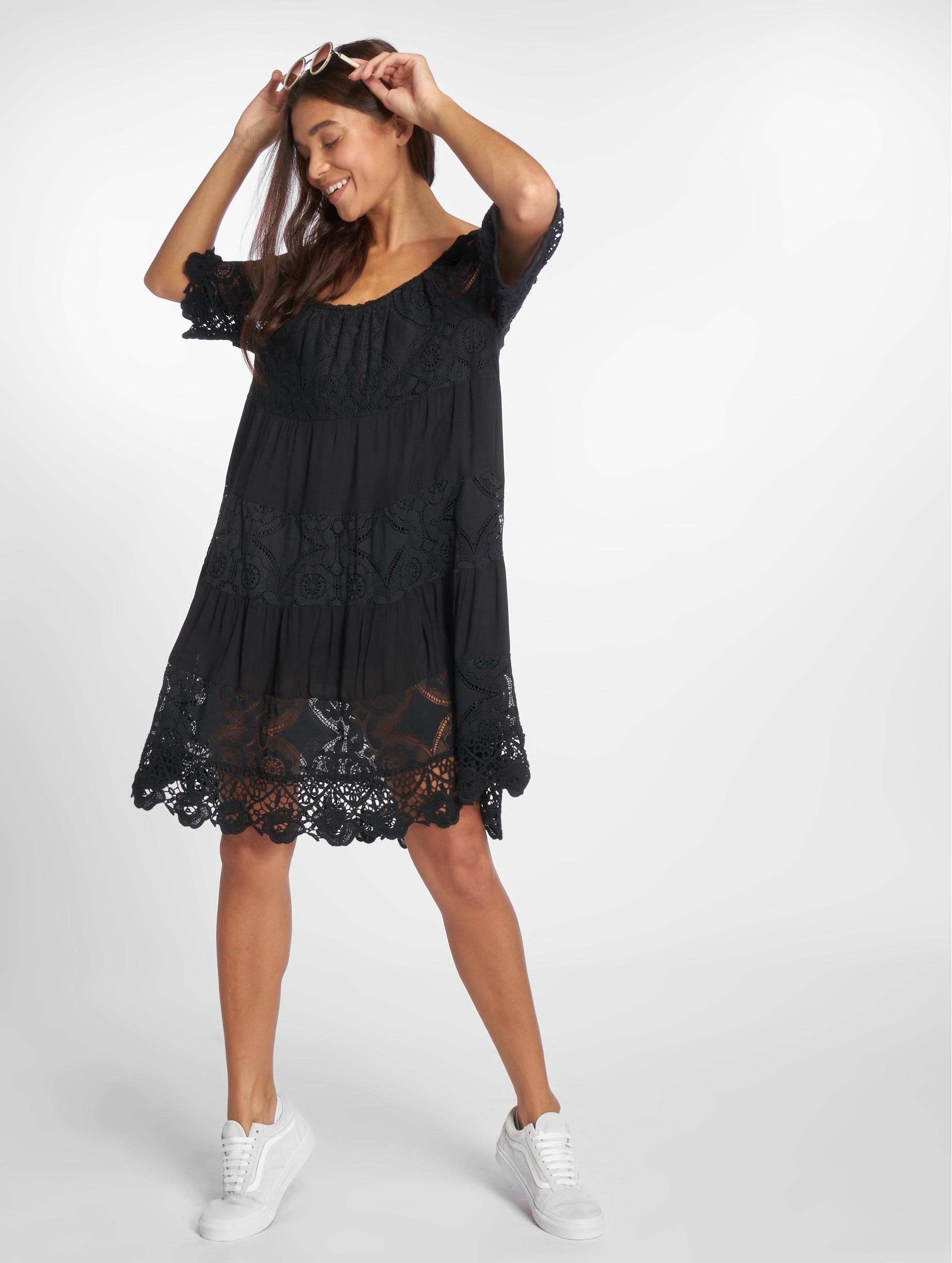 Joliko   Tunic  noir Femme Robe