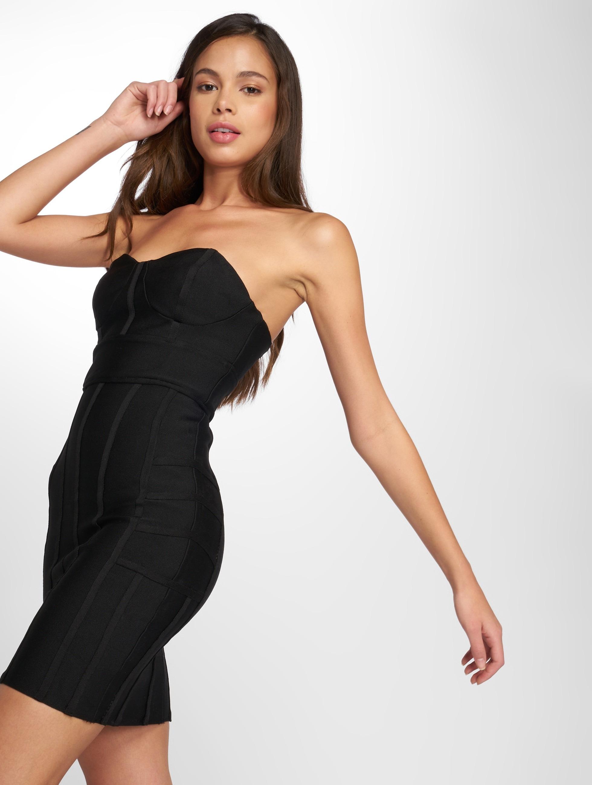Danity Paris | Amaila noir Femme Robe
