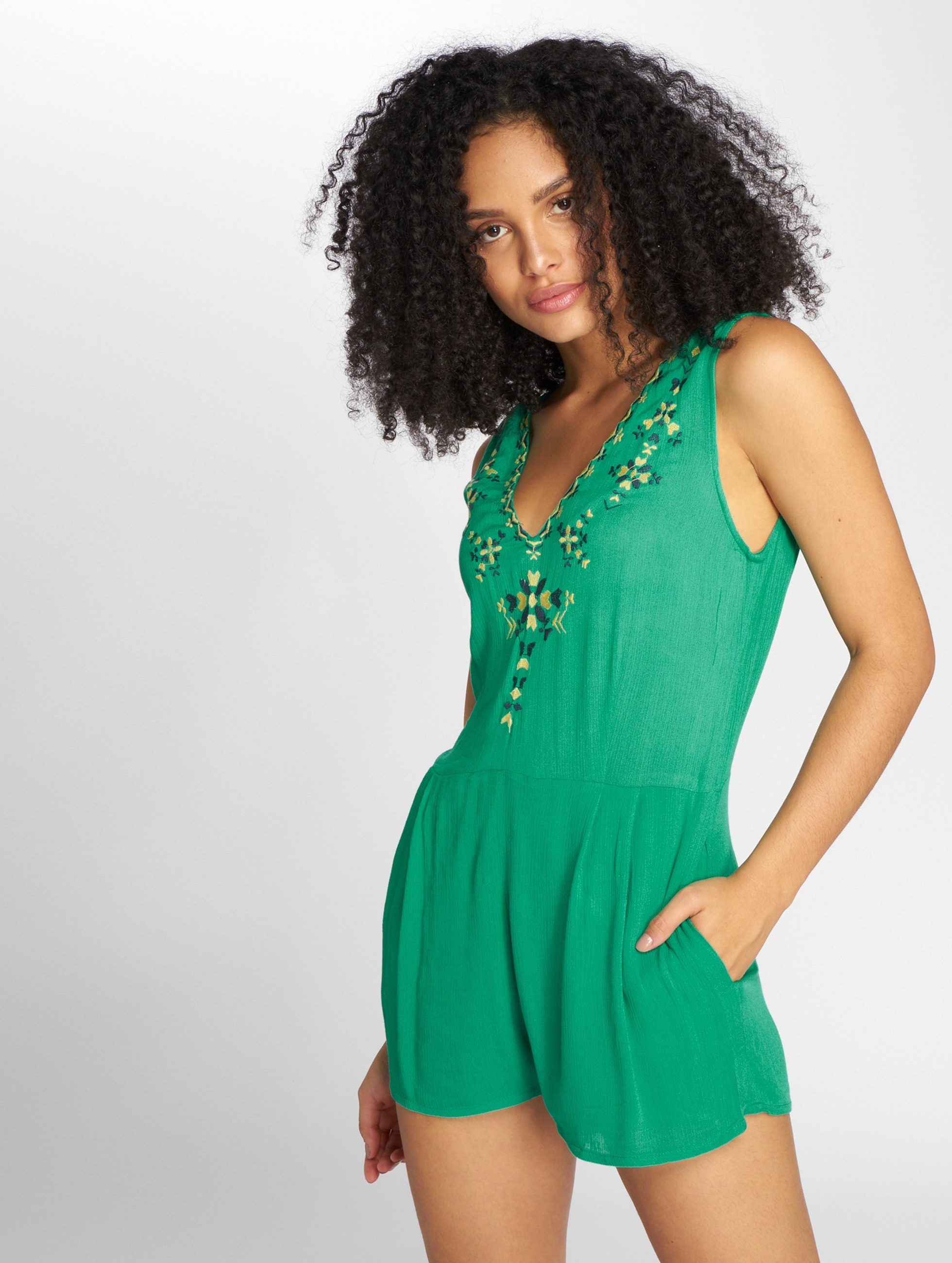 Danity Paris   Panqun vert Femme Combinaison & Combishort