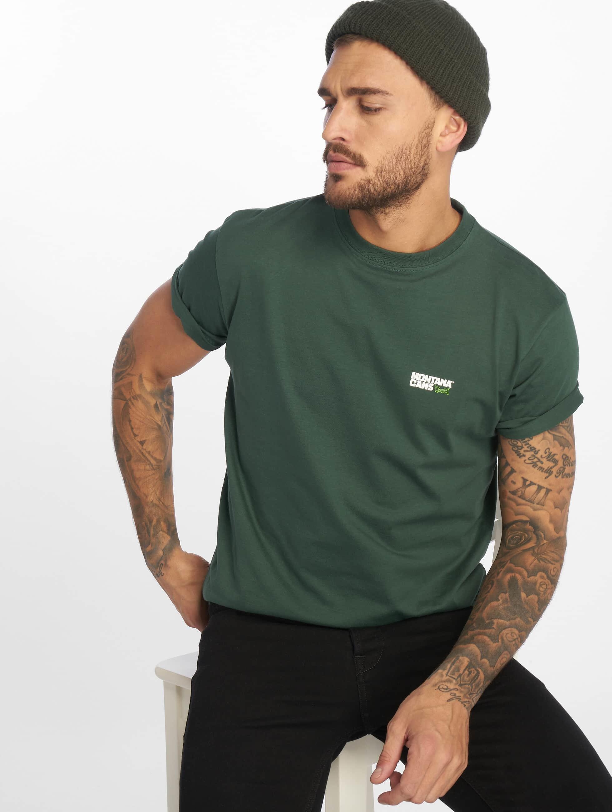 Montana | Clothing Typo Logo Small vert Homme T-Shirt