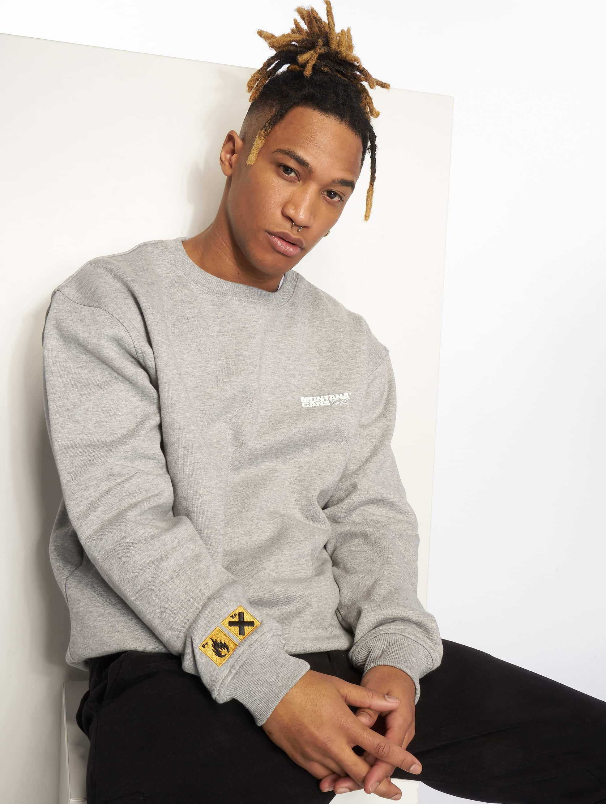 Montana | Clothing gris Homme Sweat & Pull