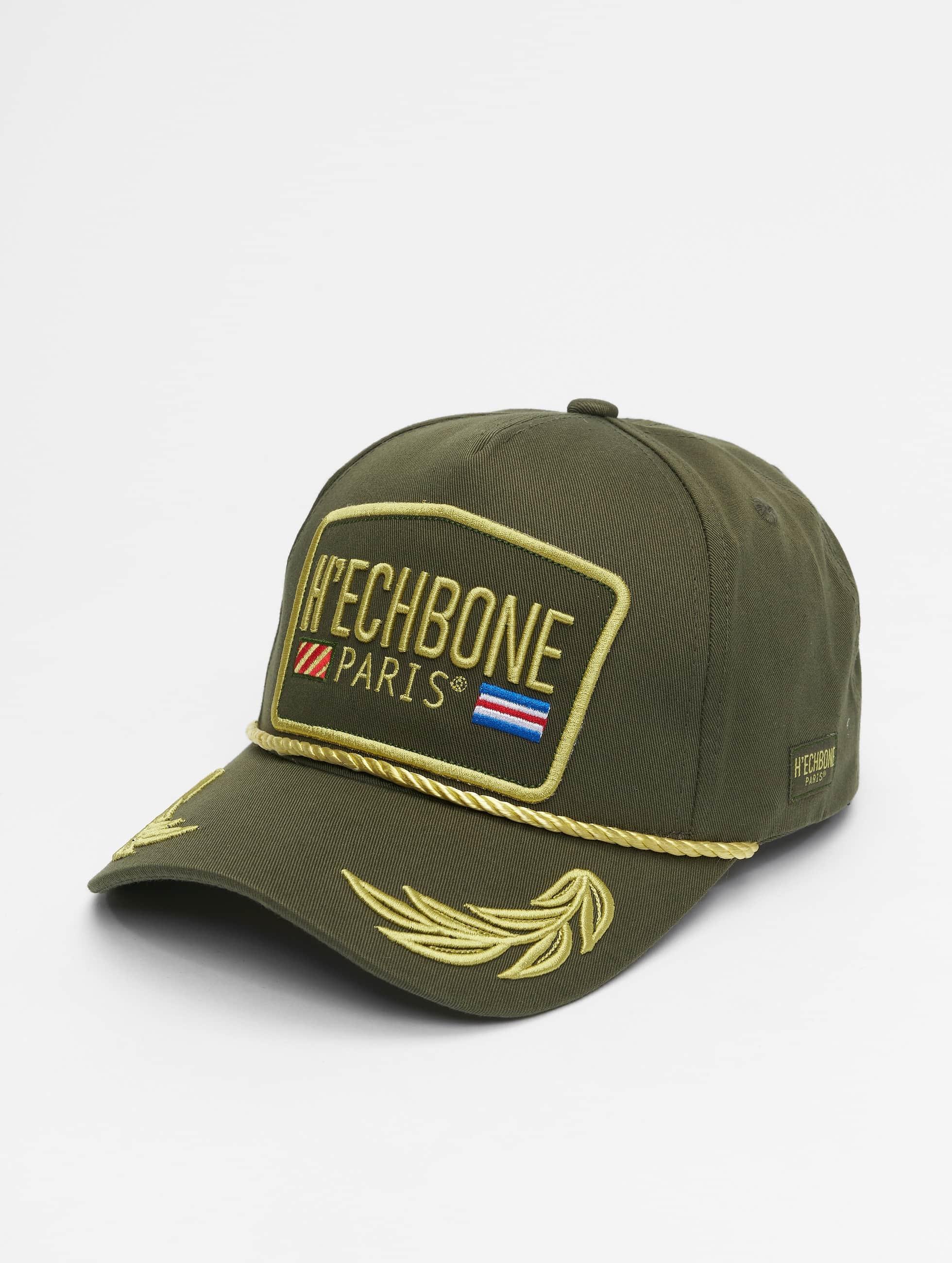 Hechbone | Trucker olive Homme,Femme Casquette Trucker mesh