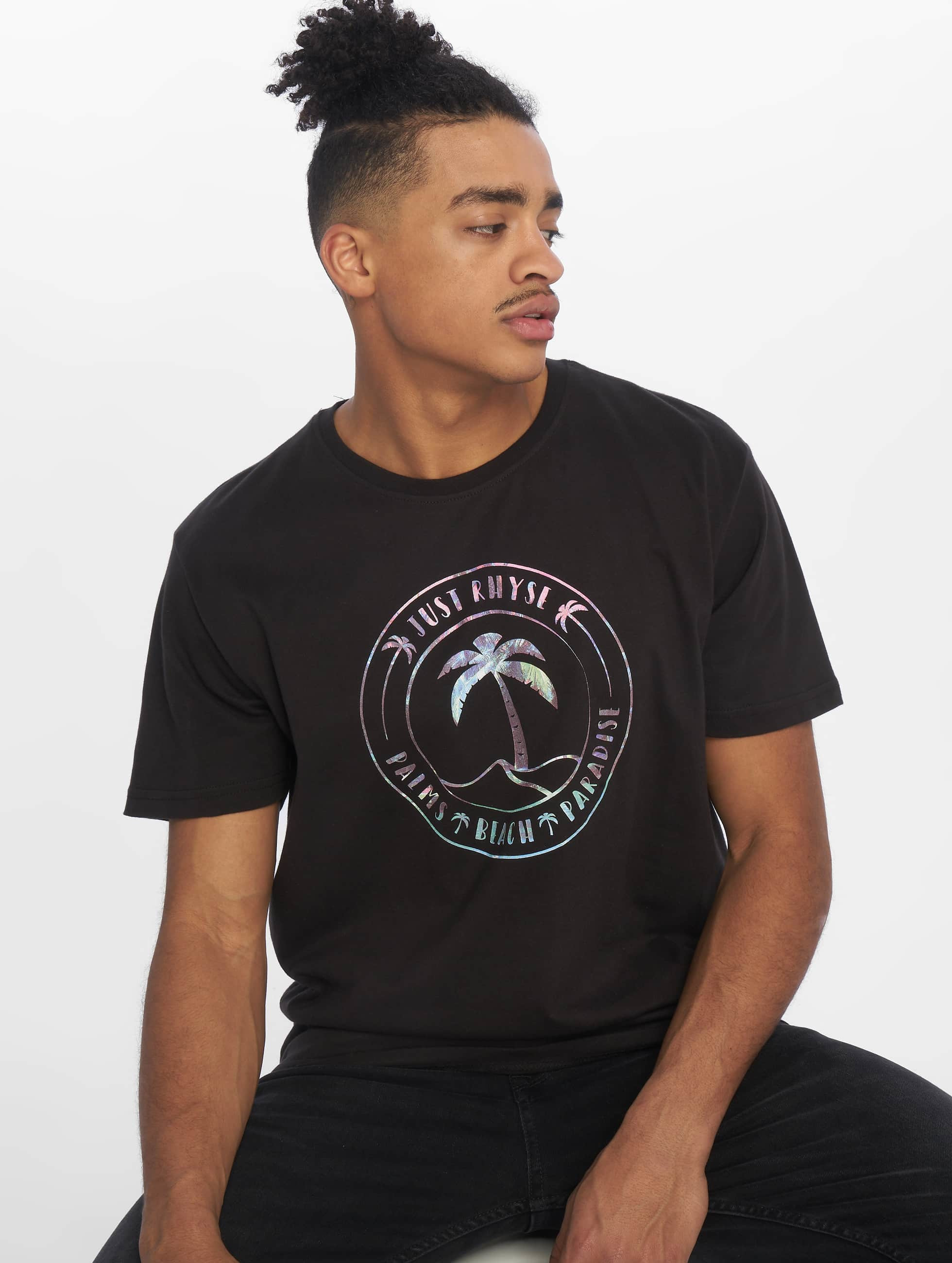 Just Rhyse / T-Shirt Siesta Key in black S