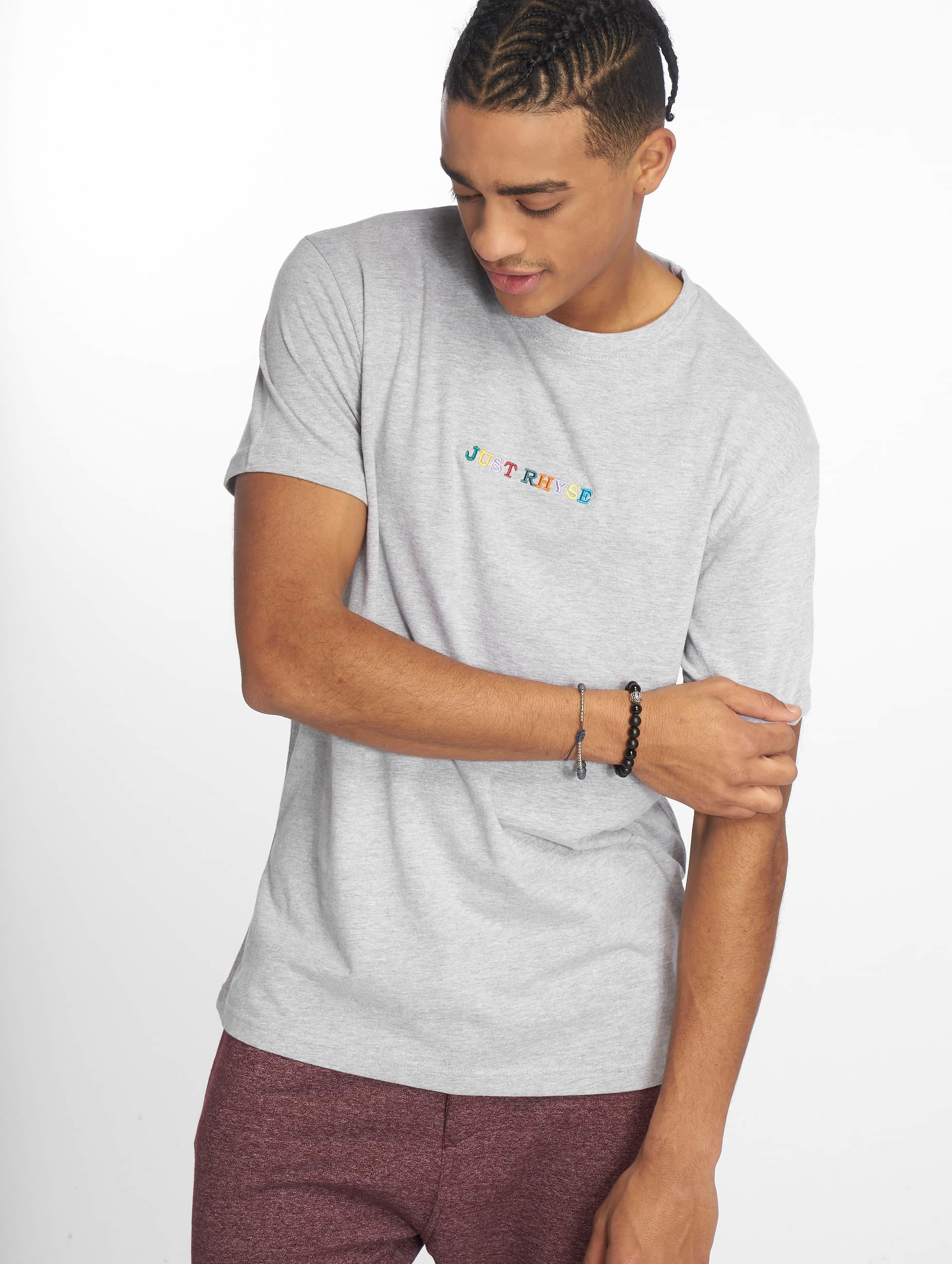 Just Rhyse / T-Shirt Niceville in grey XL