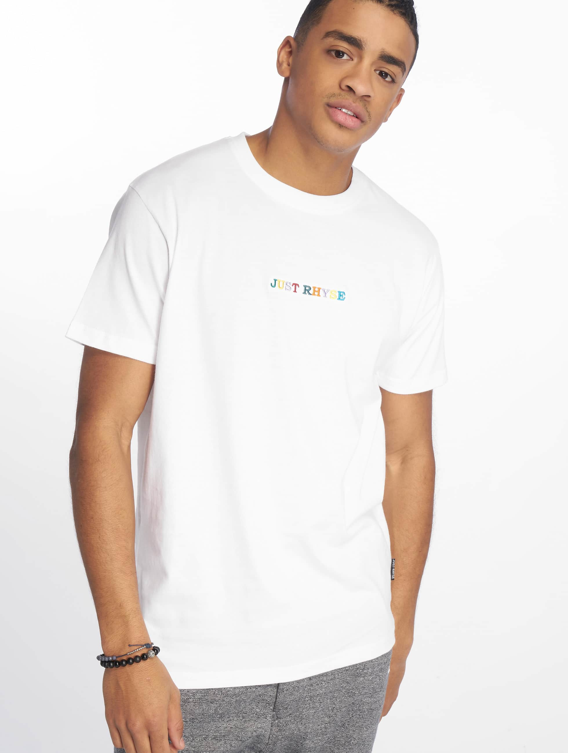 Just Rhyse / T-Shirt Niceville in white L