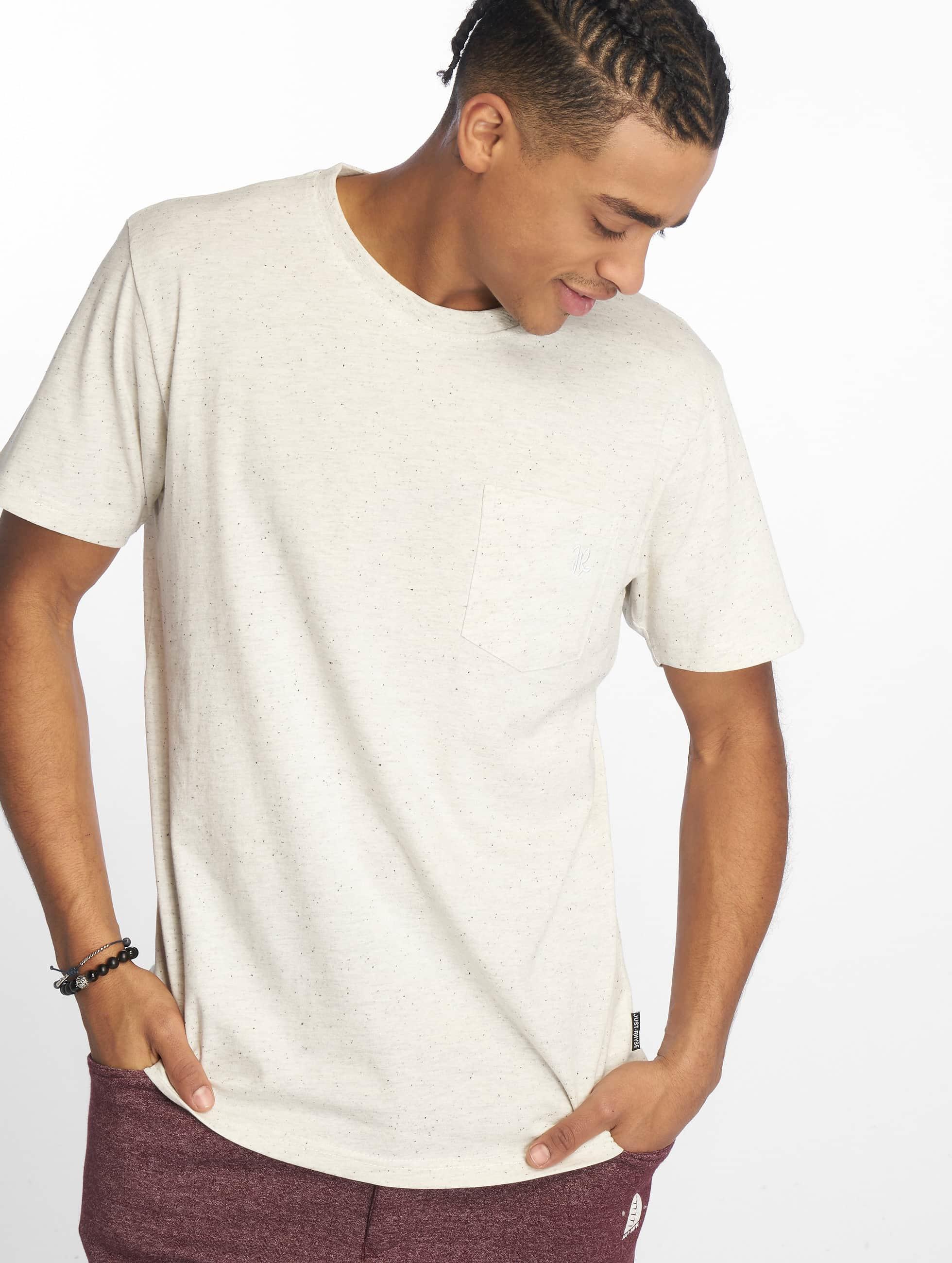 Just Rhyse / T-Shirt Sarasota in white 3XL