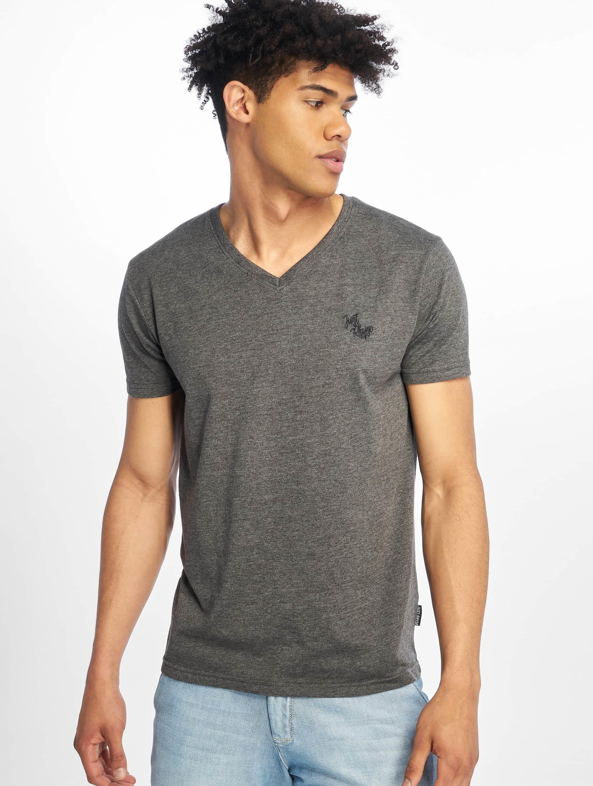 Just Rhyse / T-Shirt Alachua in grey L