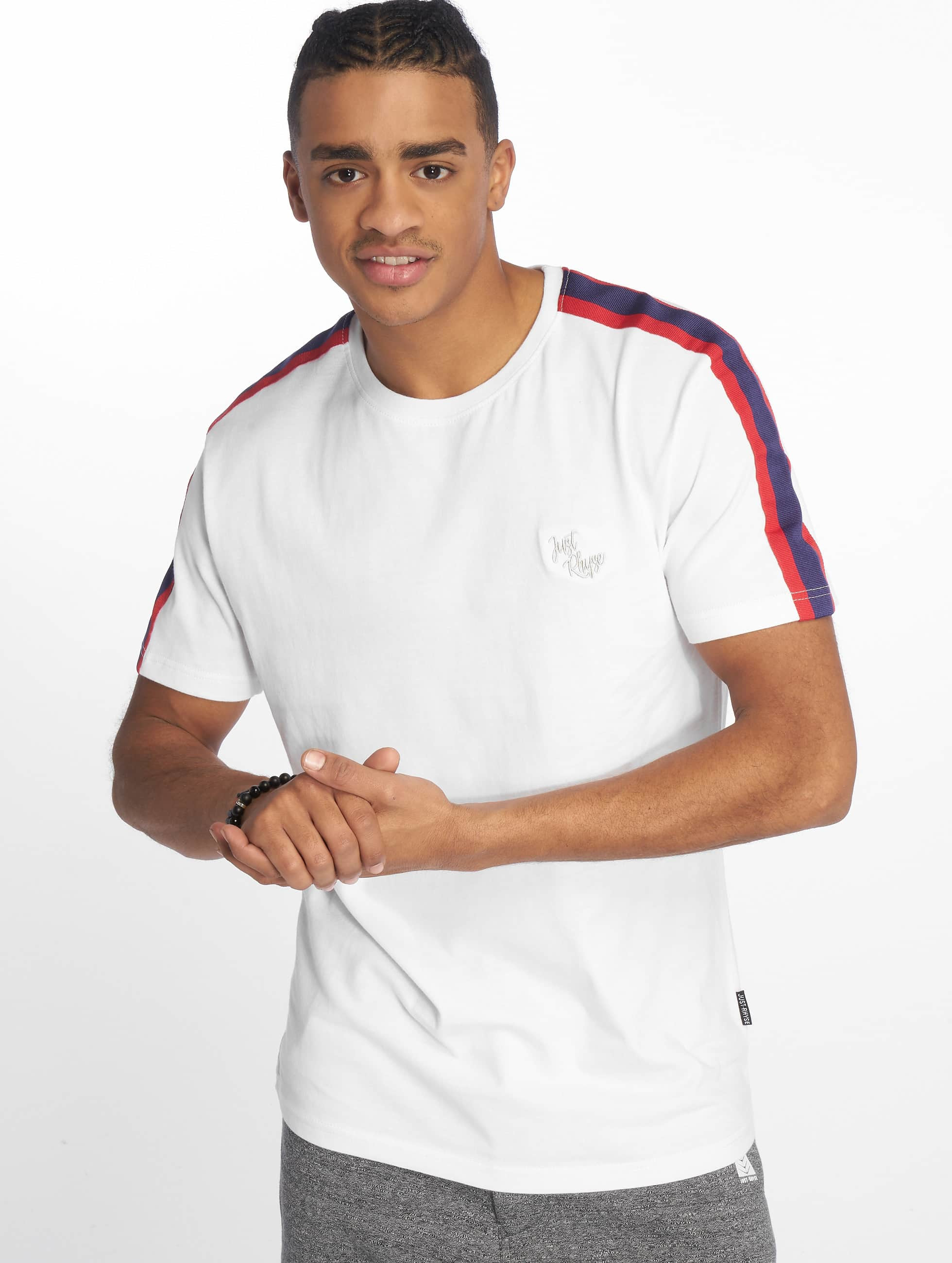 Just Rhyse / T-Shirt Brooksville in white 2XL
