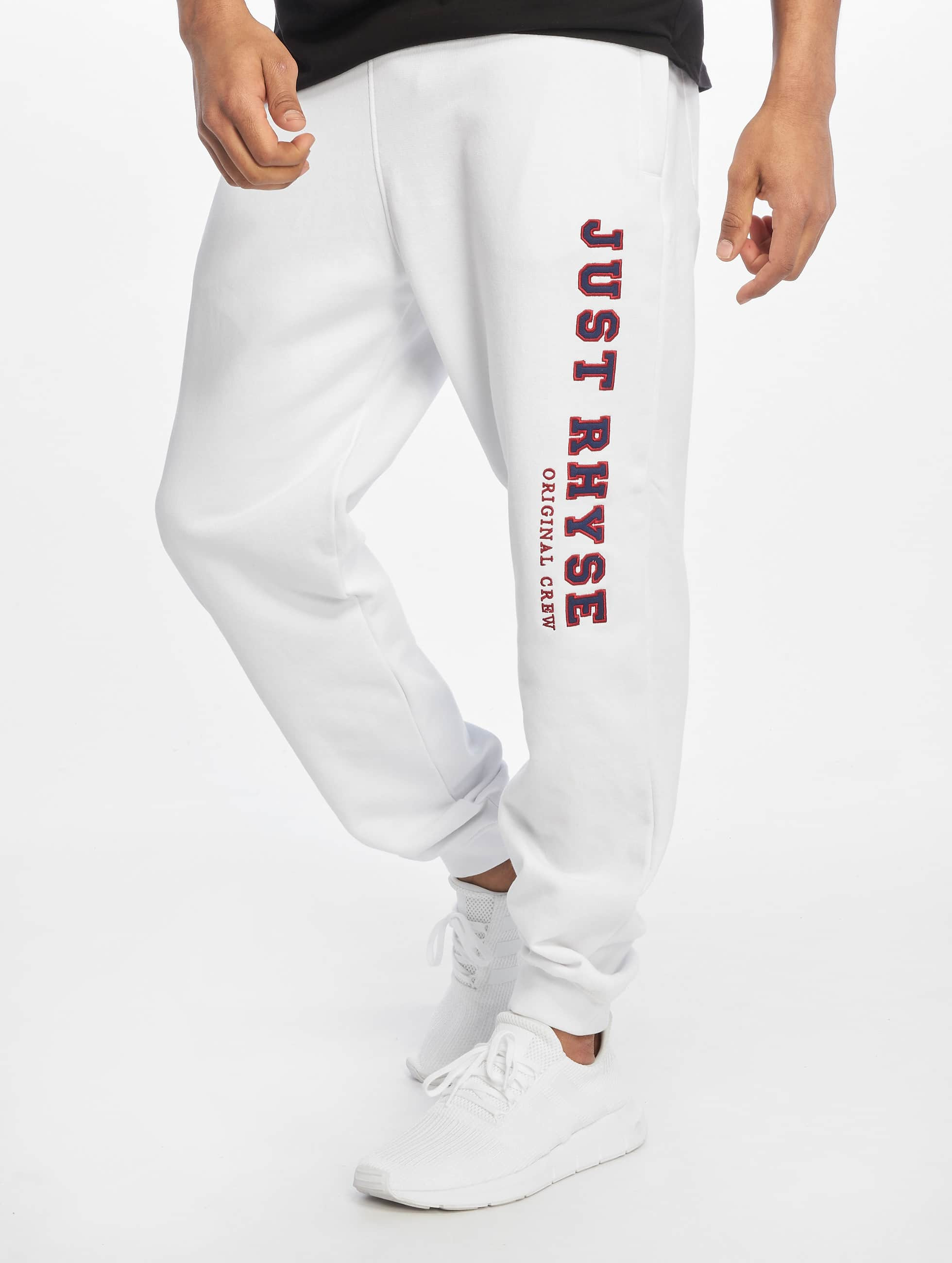 Just Rhyse / Sweat Pant Brooksville in white S